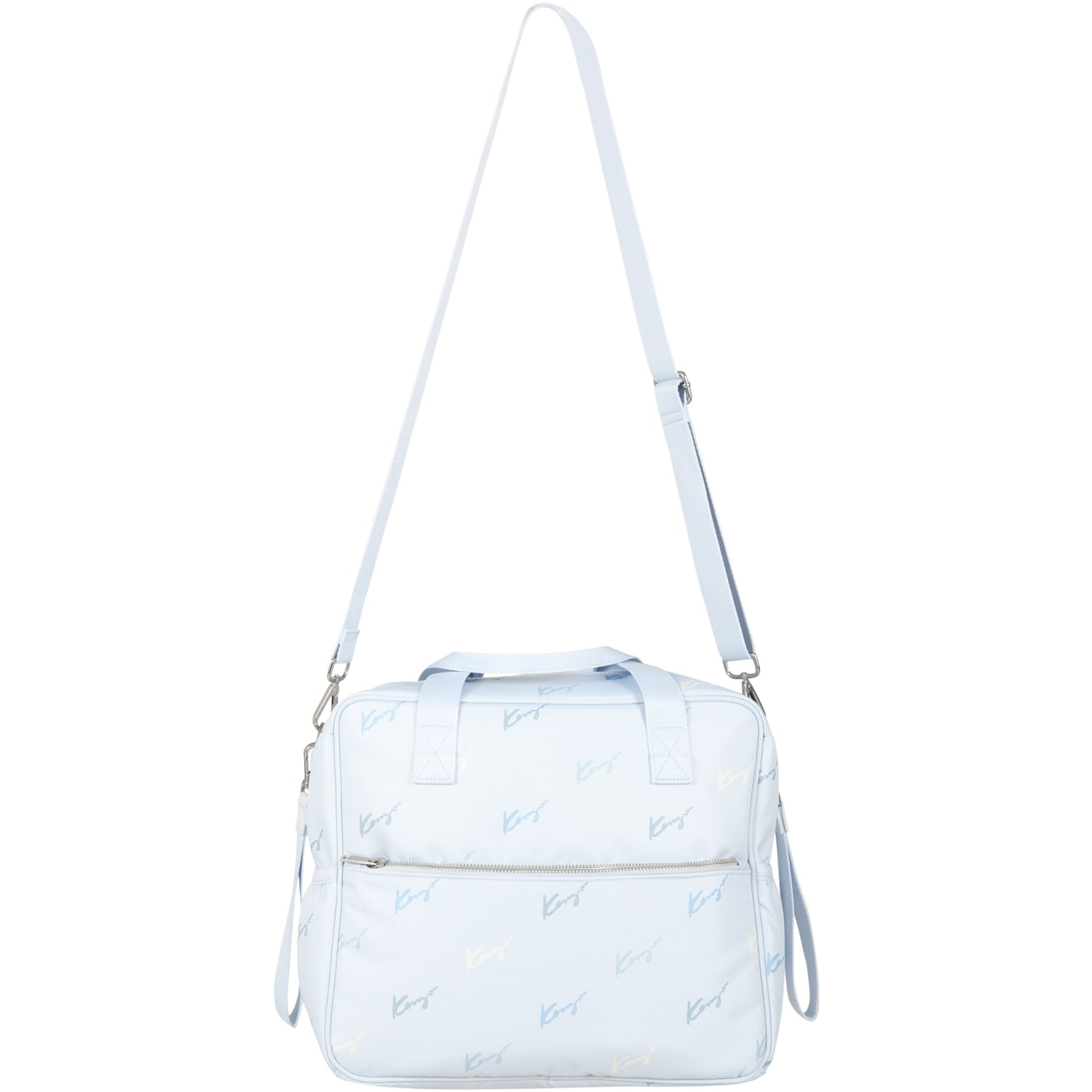 Light Blue Changing Bag For Baby Boy