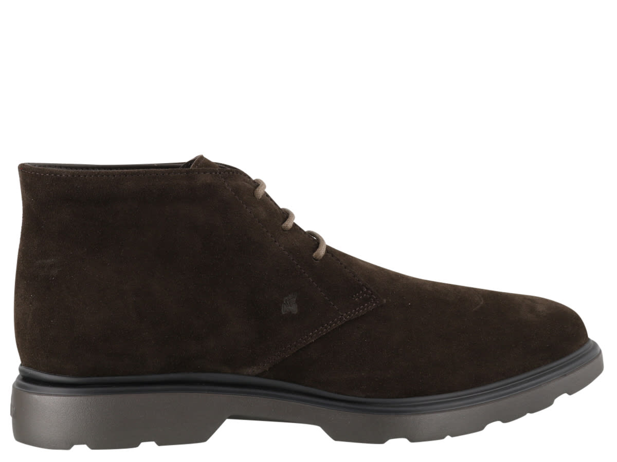 Hogan H393 Derby Laced Up Shoes