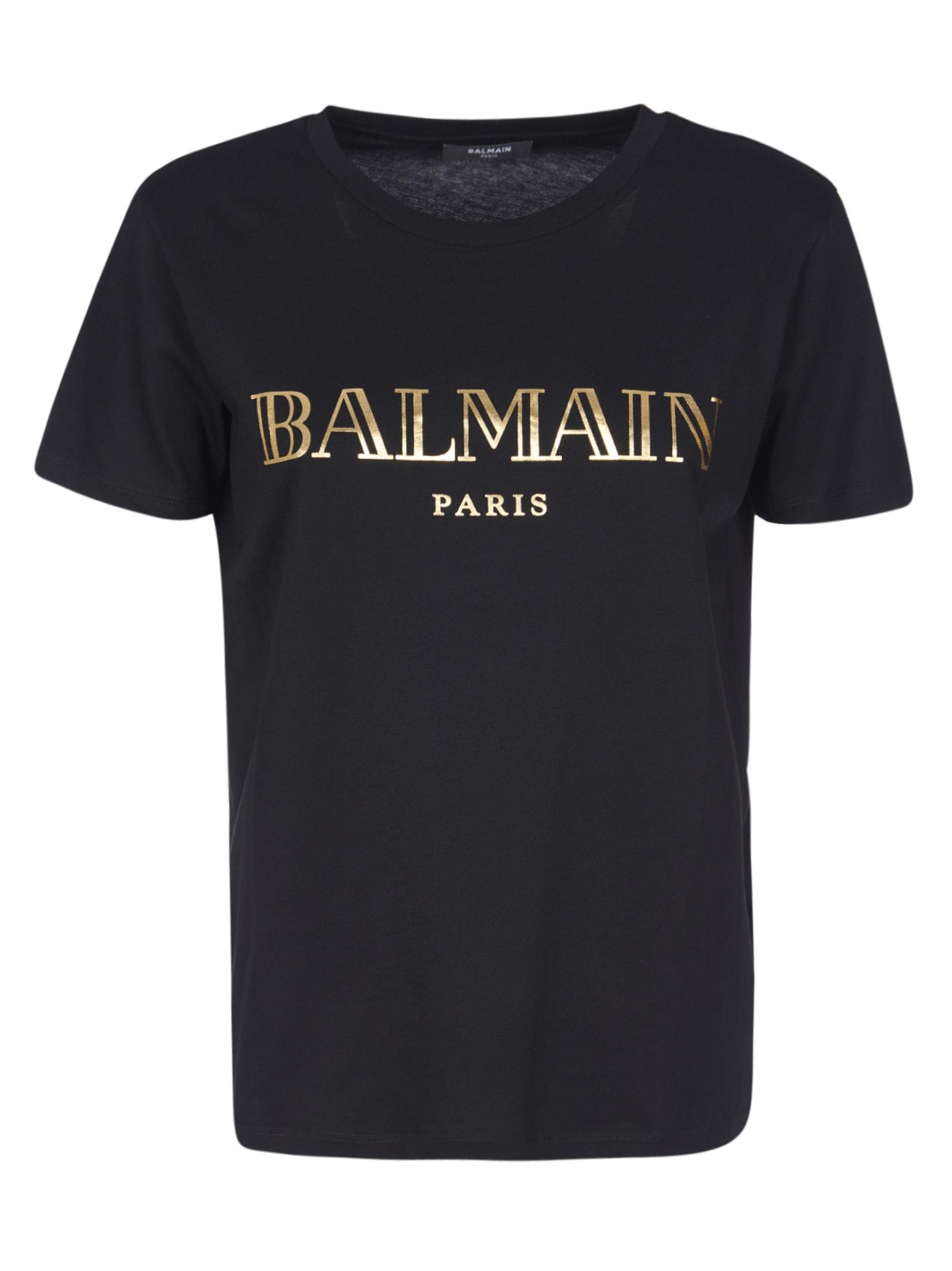 Balmain Paris Printed T-shirt