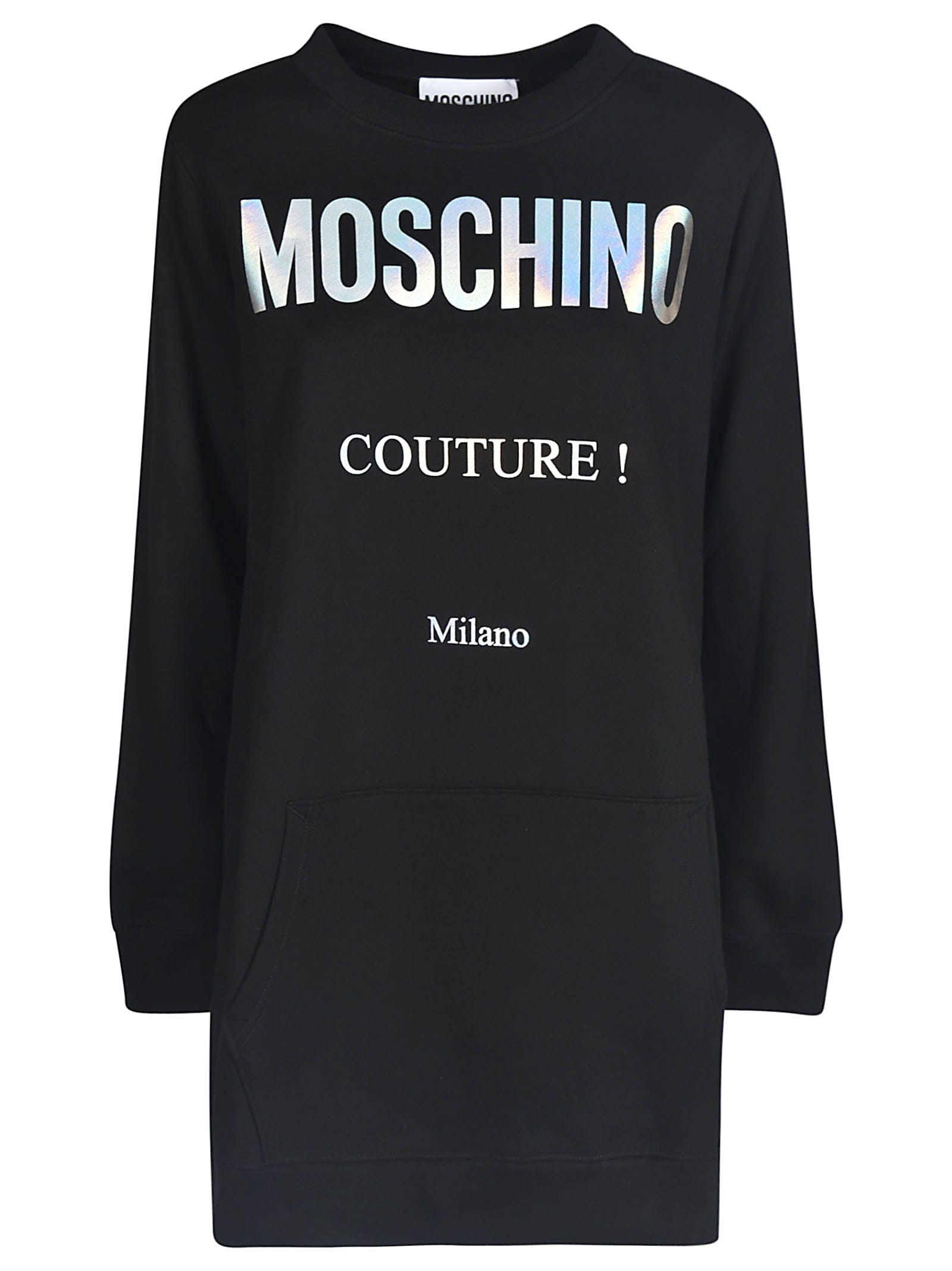 Buy Moschino Couture! Logo Sweatshirt Dress online, shop Moschino with free shipping