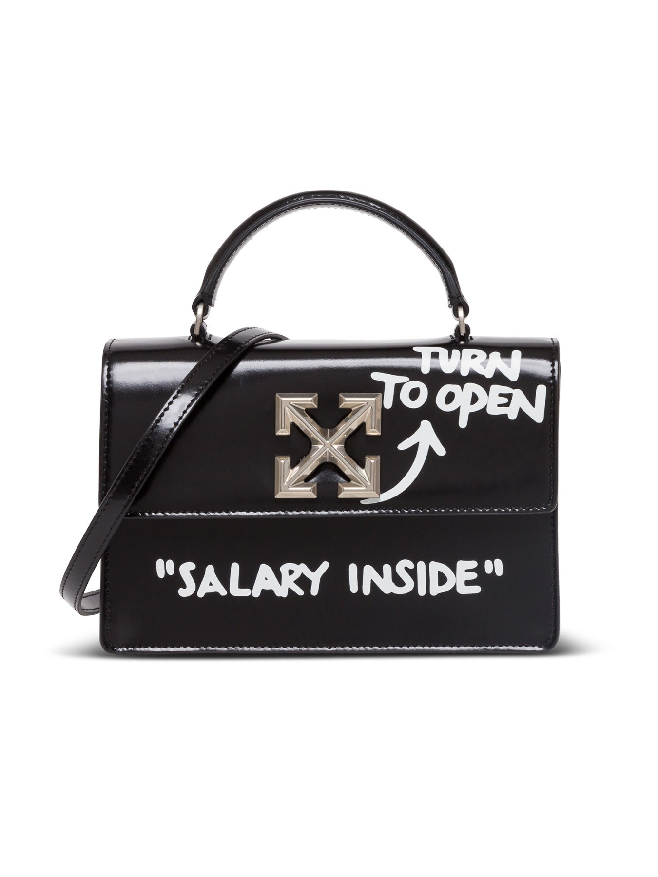 Off-White Turn To Open Jitney 1.4 Bag
