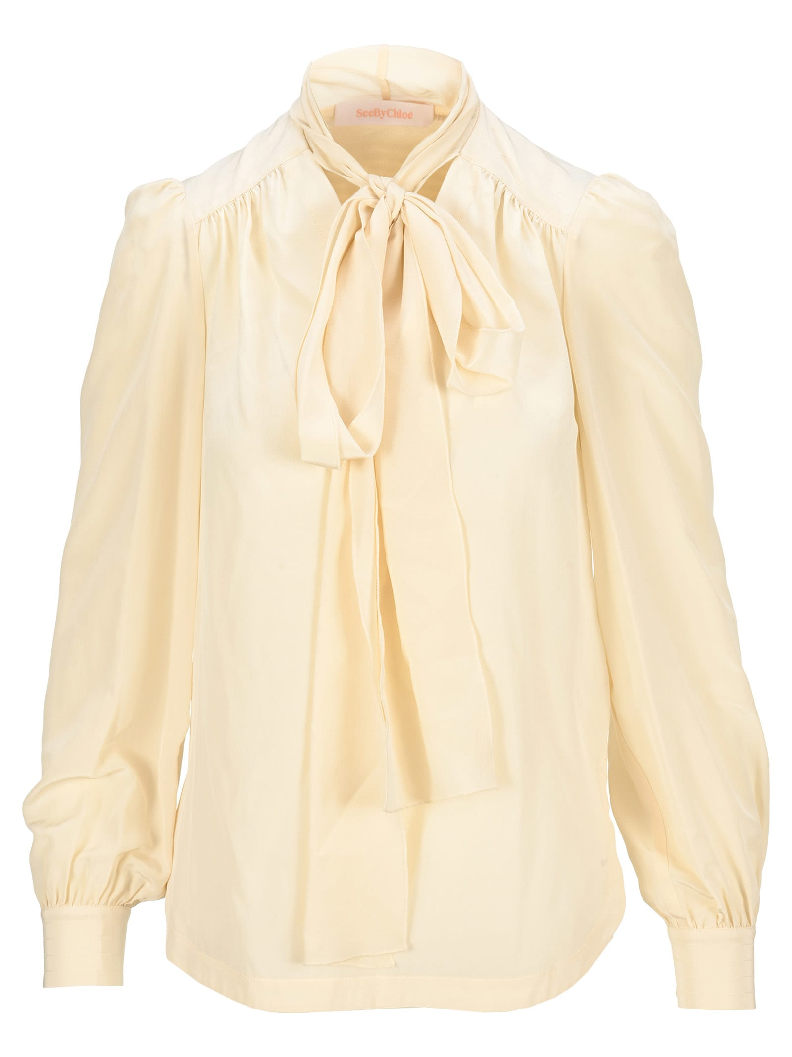 See By Chloé SEE BY CHLOE BOW SHIRT