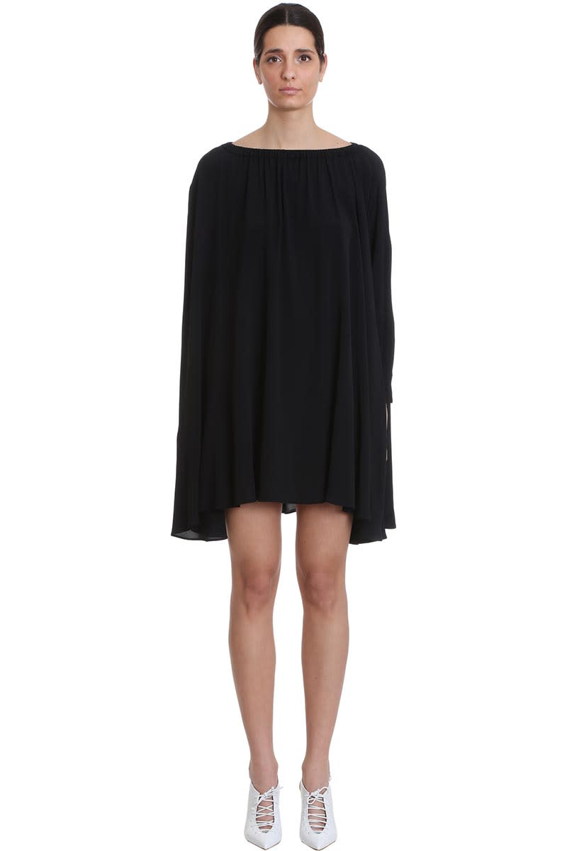 Buy Mauro Grifoni Dress In Black Tech/synthetic online, shop Mauro Grifoni with free shipping