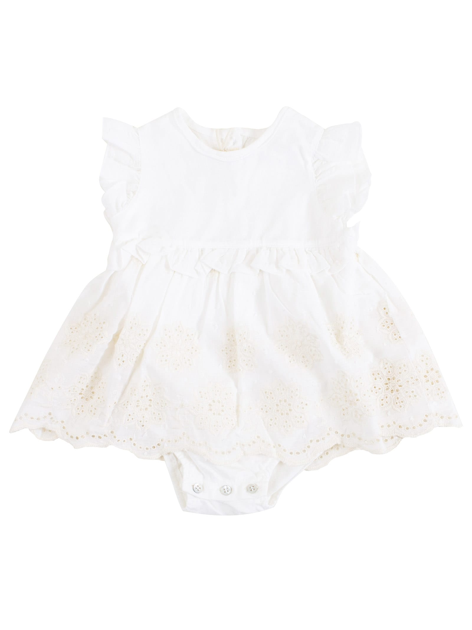 Buy Zhoe & Tobiah Newborn Dress With Body online, shop Zhoe & Tobiah with free shipping