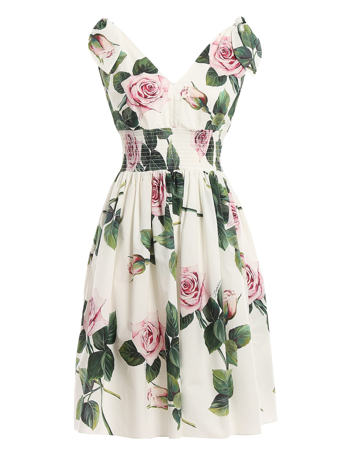 Buy Dolce & Gabbana Dress Rose online, shop Dolce & Gabbana with free shipping