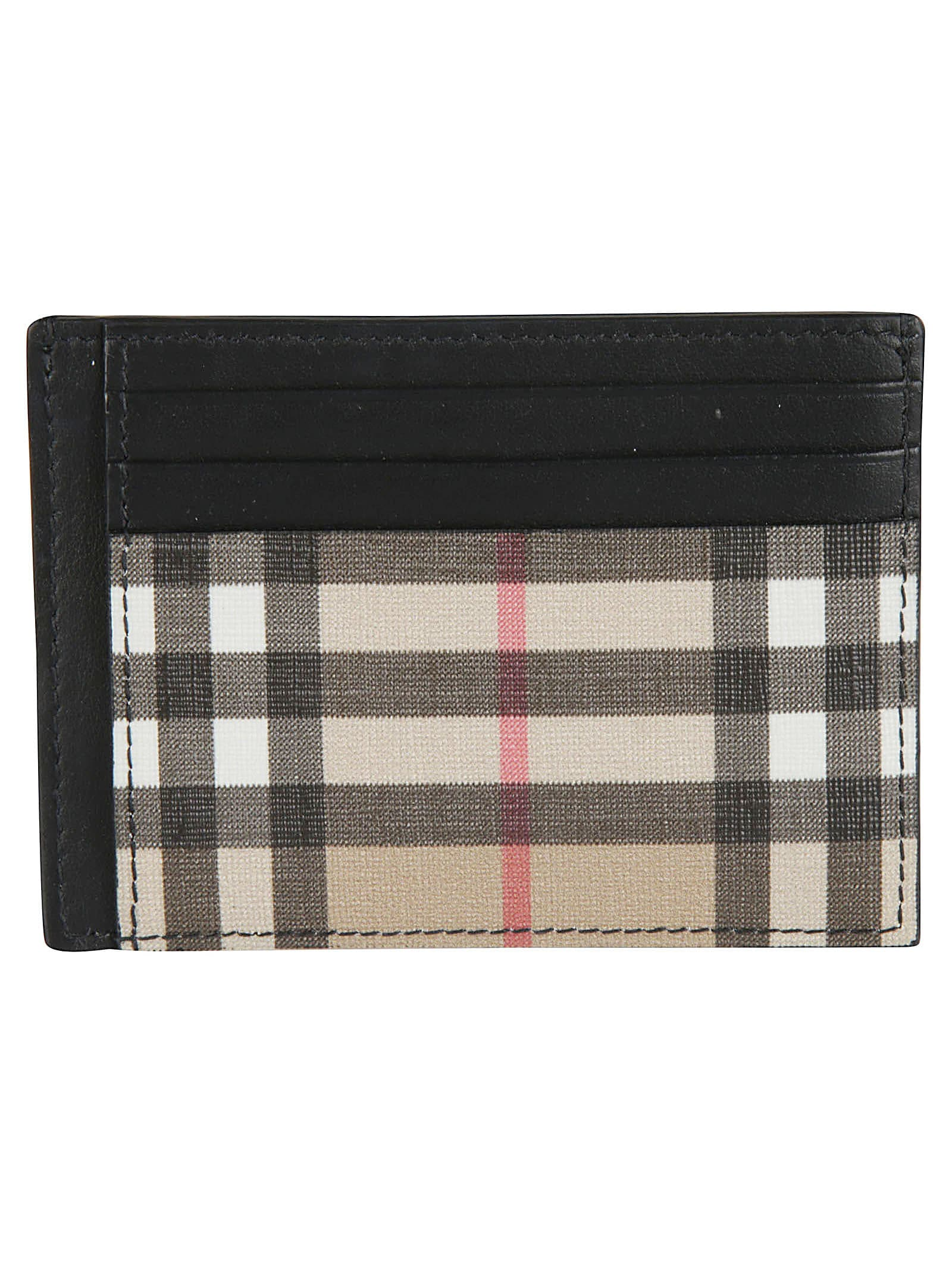 size 40 85a00 8c774 Chase Vintage Check Card Holder in Archive Beige