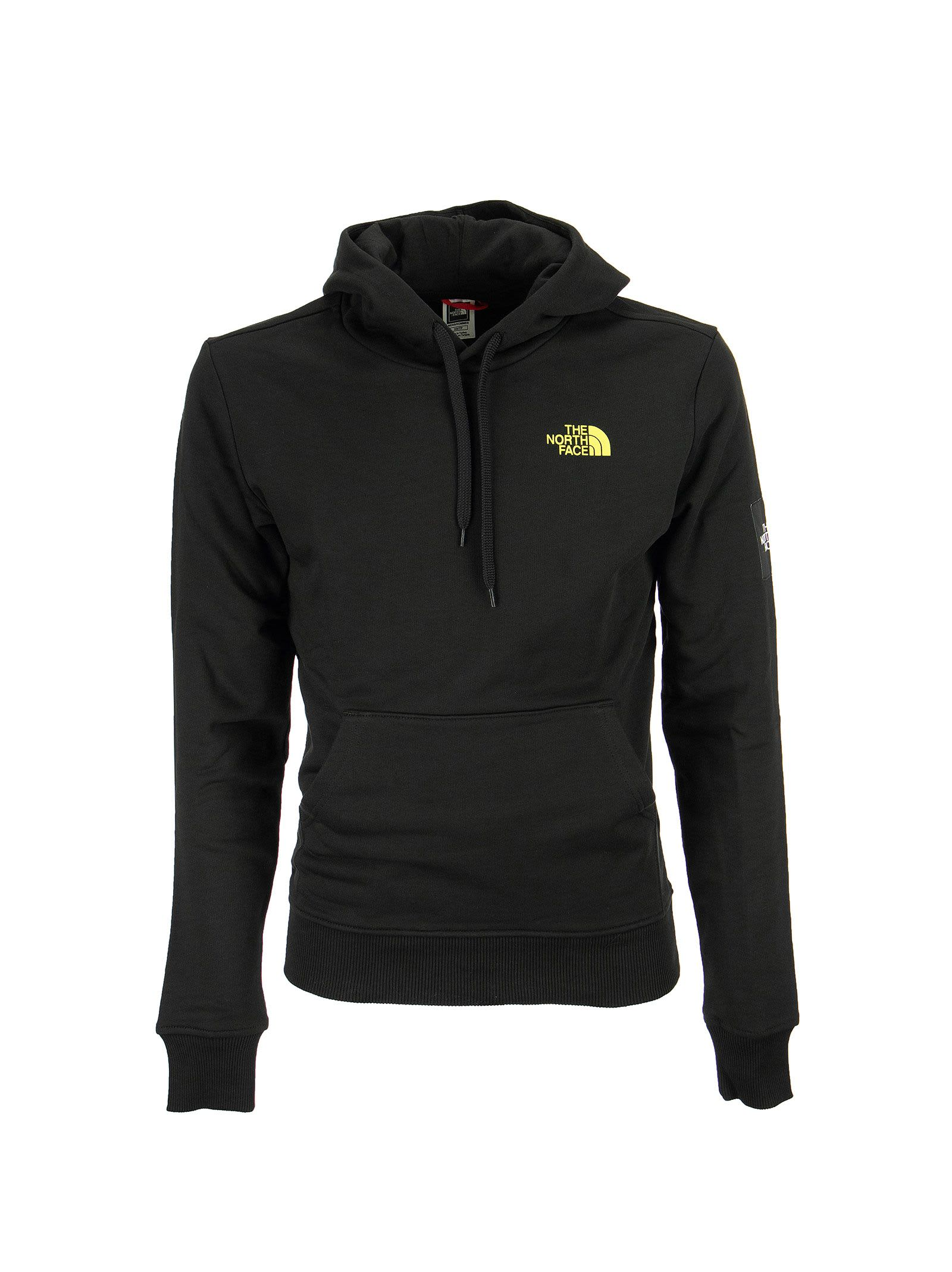 The North Face Cottons BLACK BOX MENS HOODED SWEATSHIRT