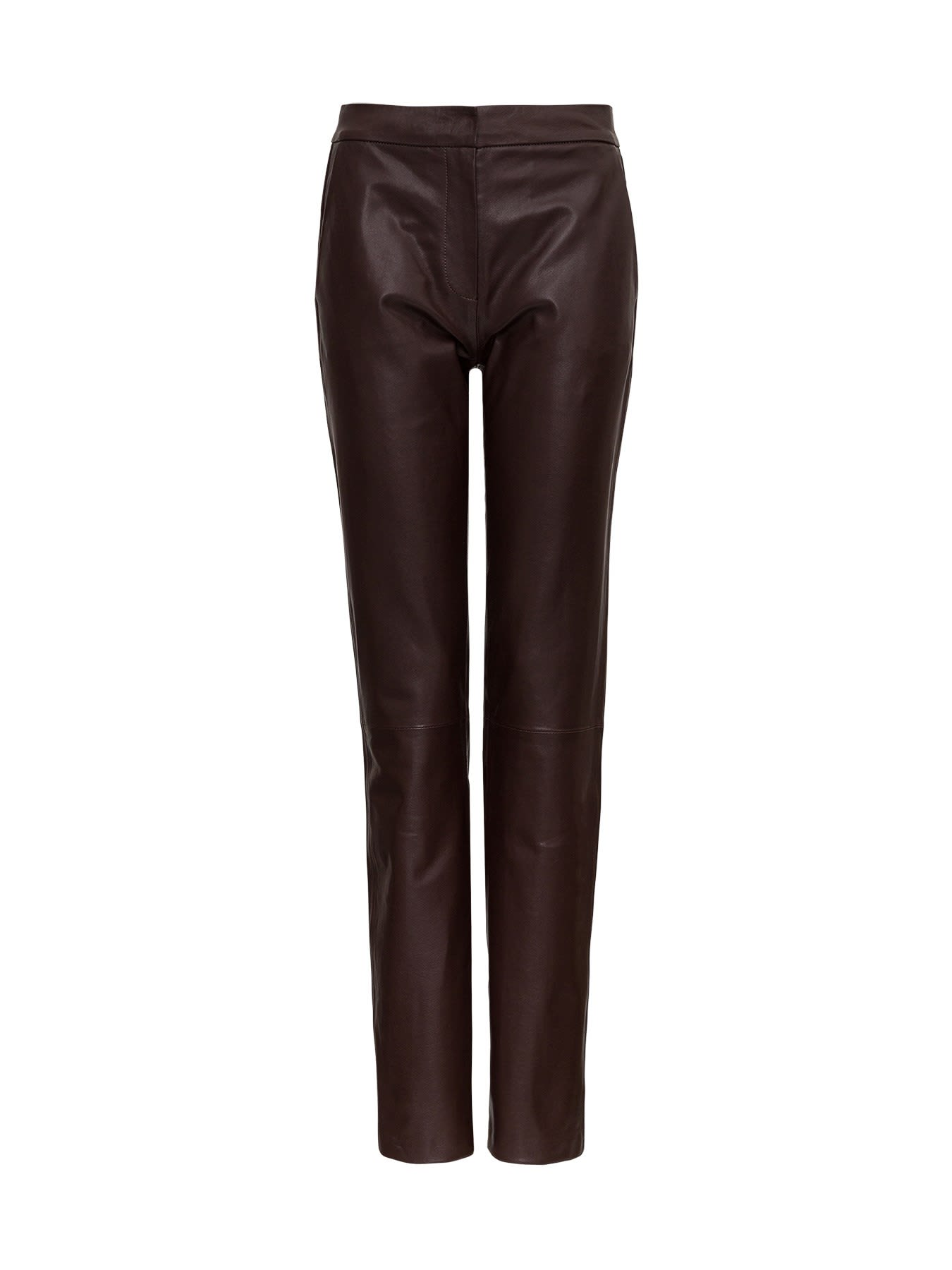 Federica Tosi LEATHER PANTS