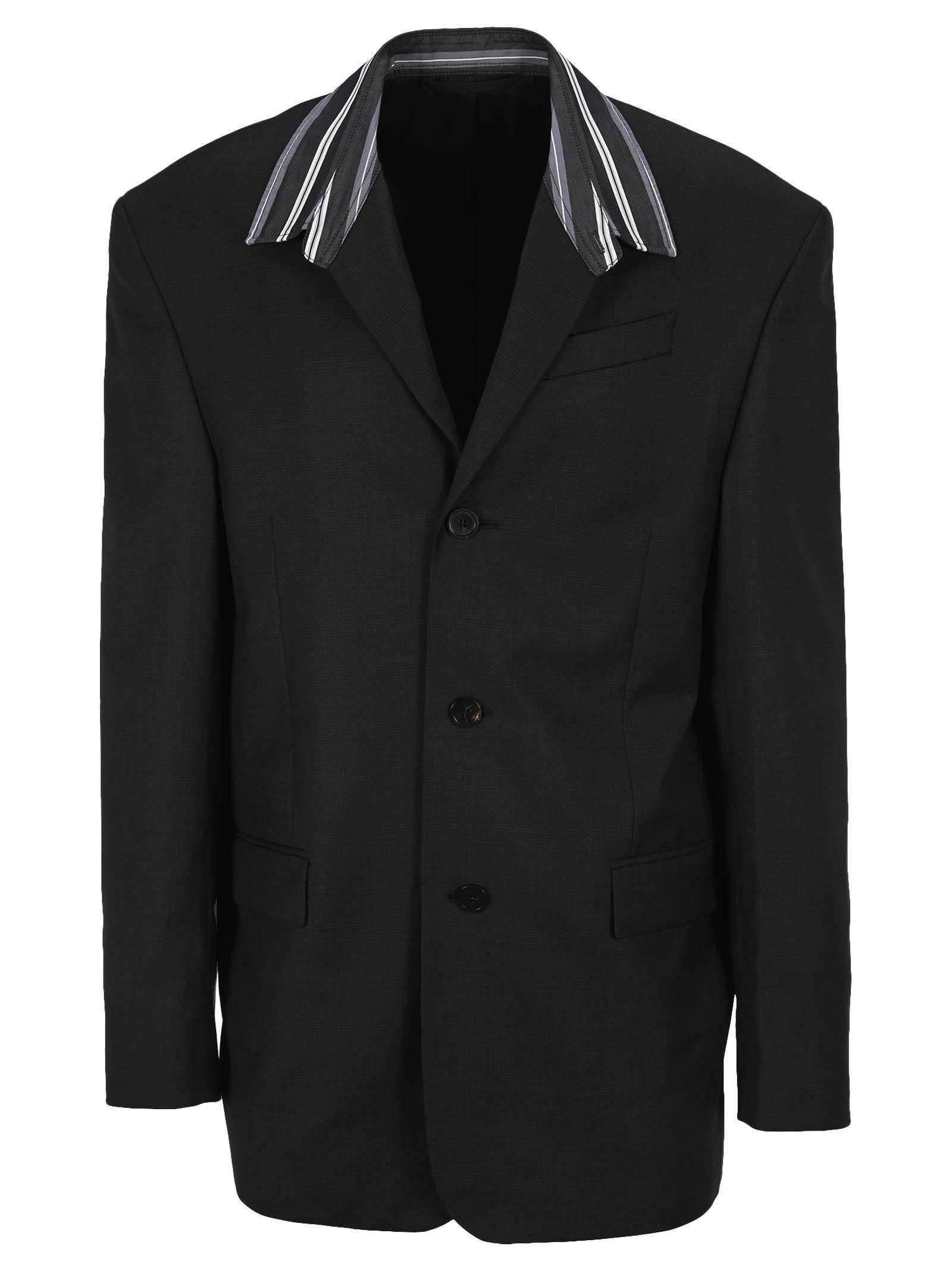 Balenciaga Tailored Shirt Blazer