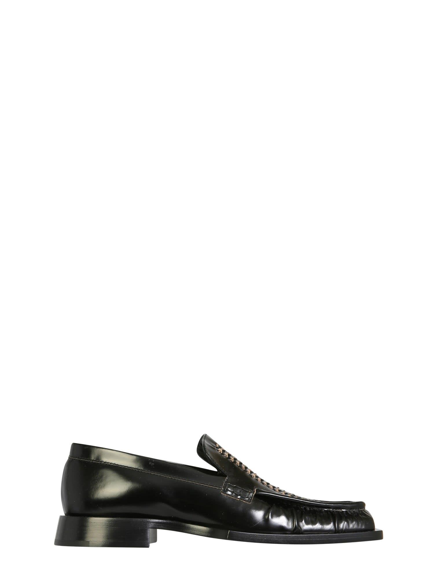 Buy Jil Sander Leather Moccasins online, shop Jil Sander shoes with free shipping