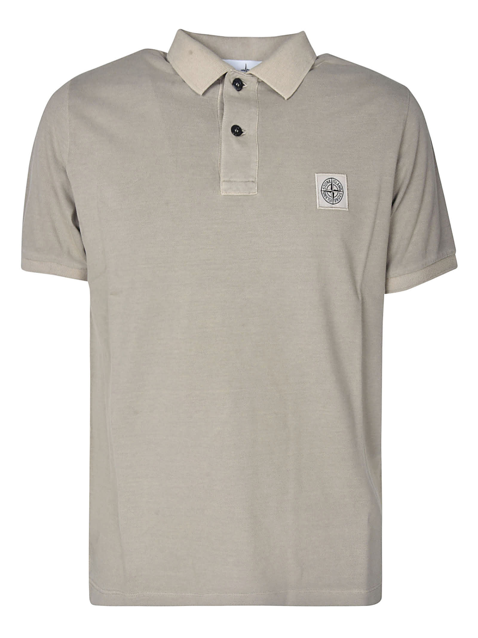 Stone Island Classic Patched Polo Shirt