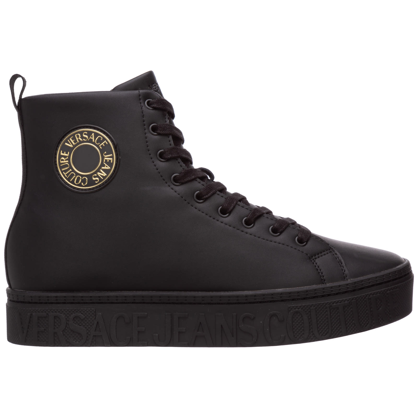 Versace Jeans Couture Puro Lino High-top Sneakers
