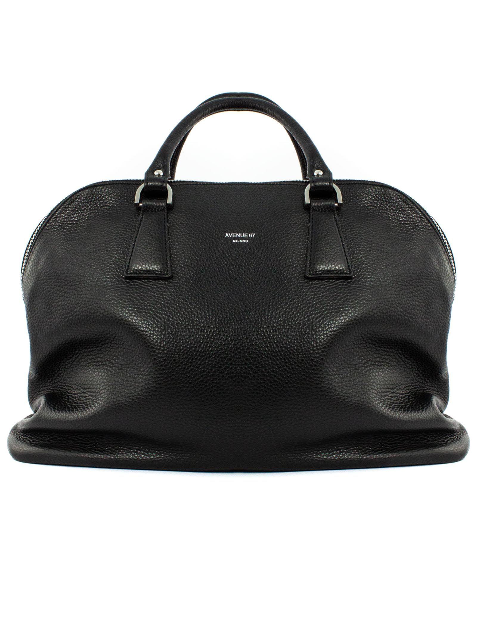 Fandango Bag In Black Soft Leather