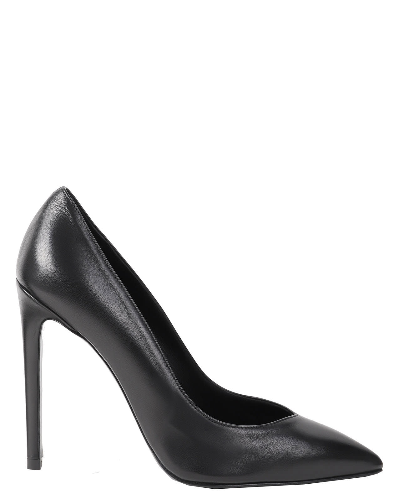Luca Valentini Black Fiona Pumps