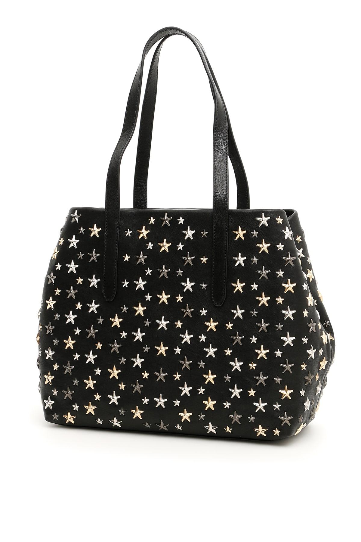 Jimmy Choo Shopping Bag With Stars Sofia M
