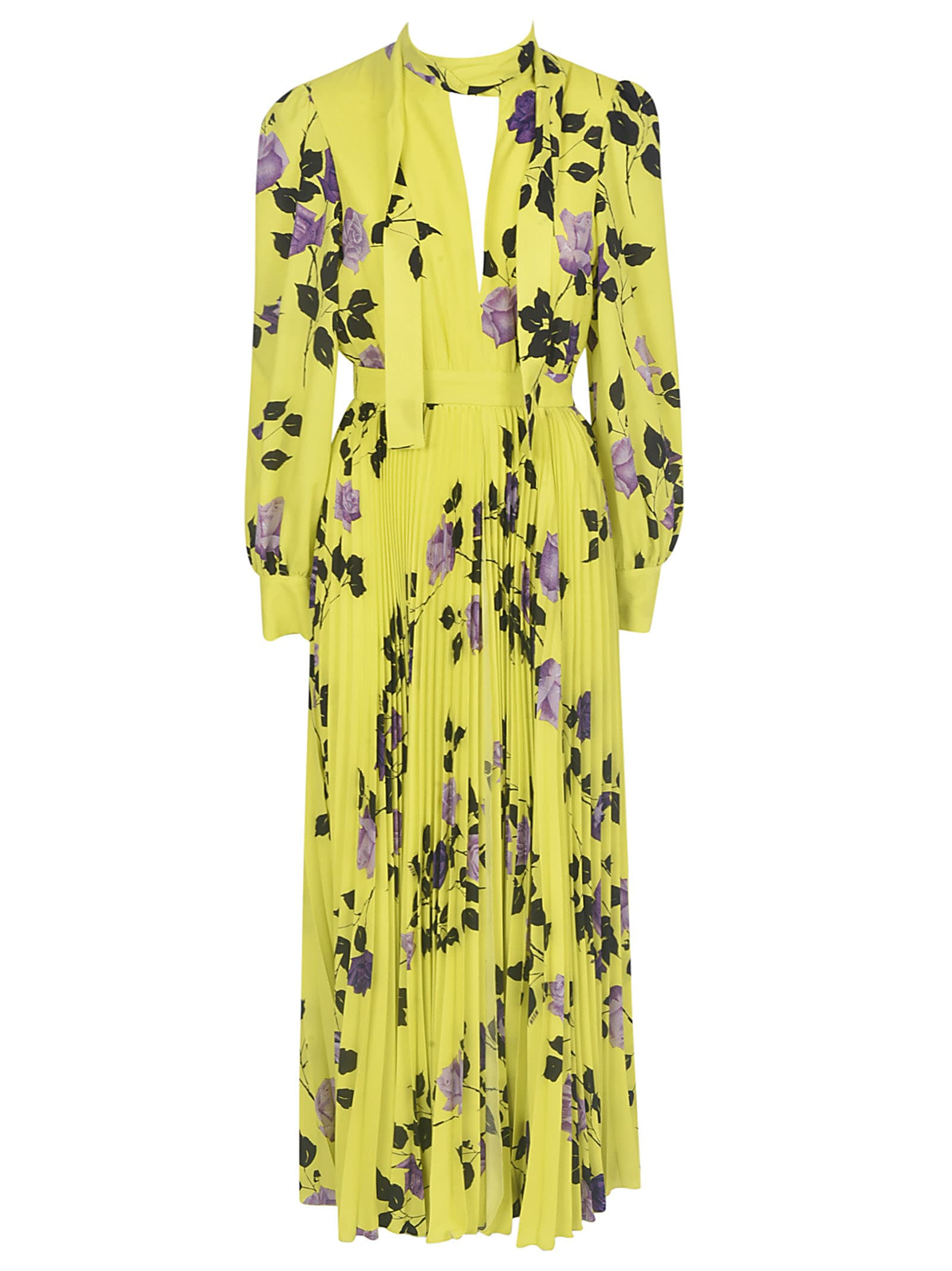 Buy MSGM Fantasia Chemisier Dress online, shop MSGM with free shipping