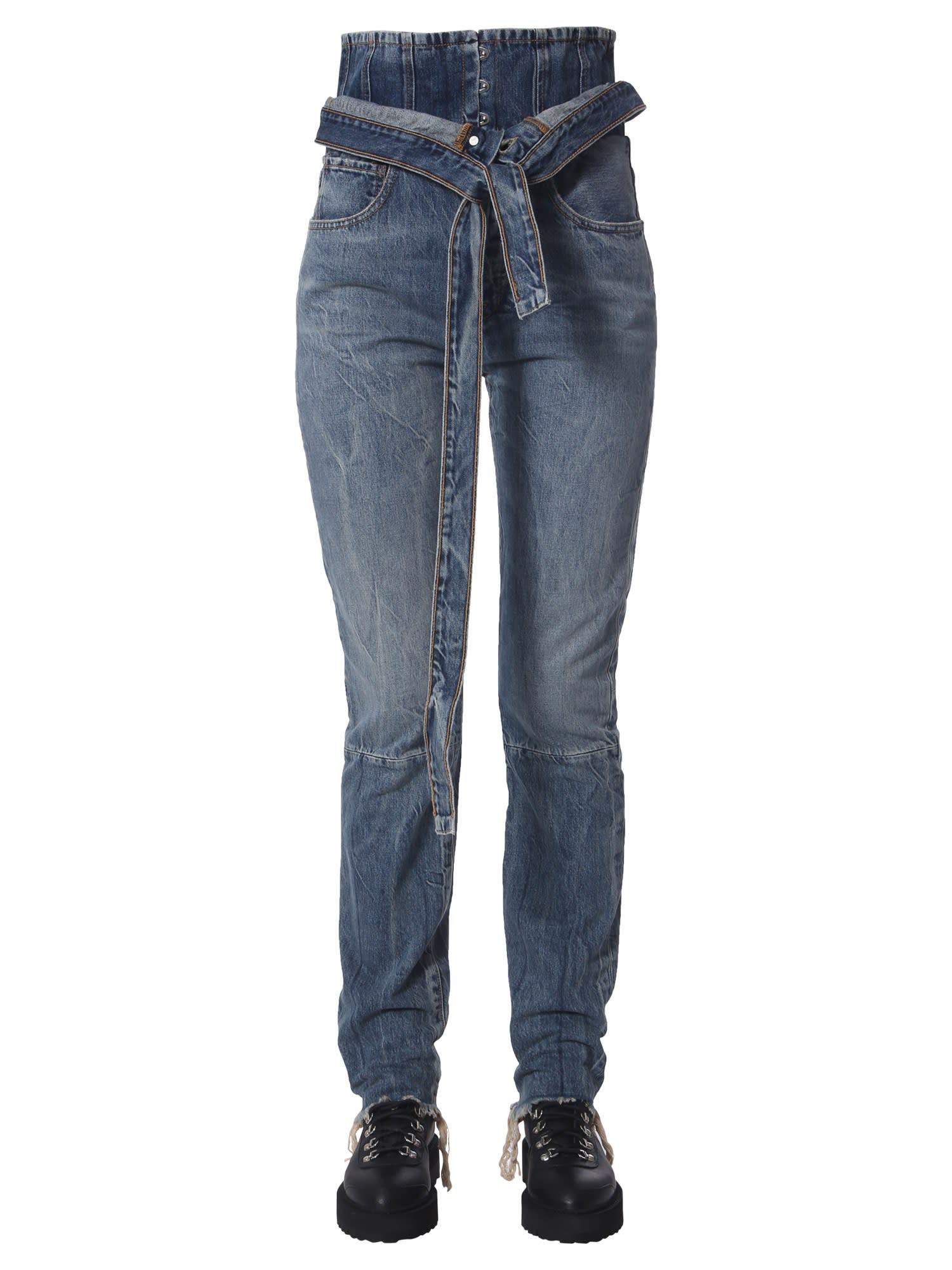 Spray Corset Jeans