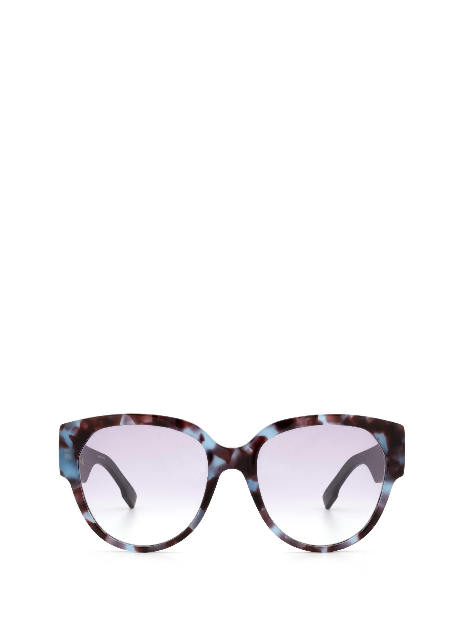 Dior Dior Diorid2 Blue Havana Sunglasses