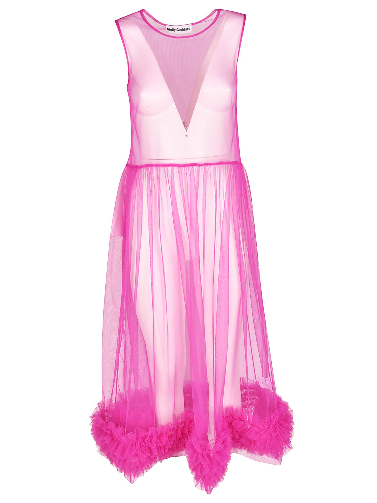 Molly Goddard Transparent Dress