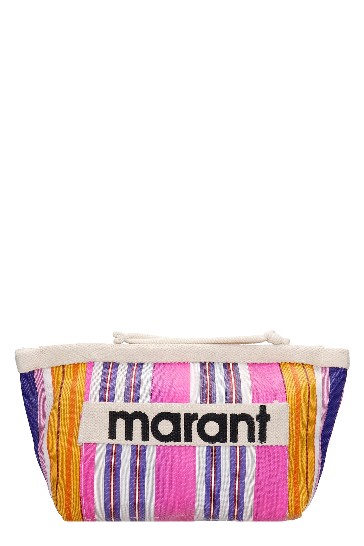 Isabel Marant Powder Hand Bag In Fuxia Canvas