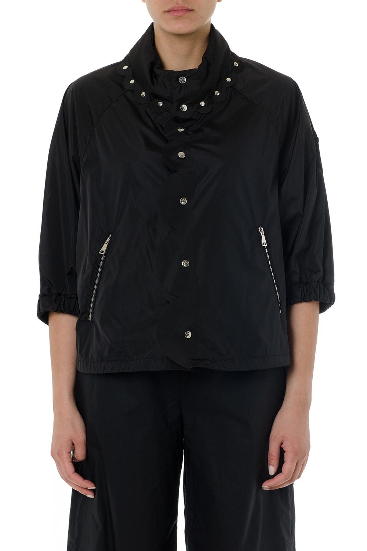 Moncler Genius Black Osmiun Studs Jacket