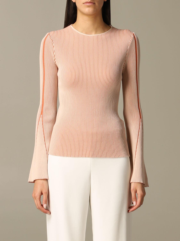 Emporio Armani Sweater Emporio Armani Bicolor Ribbed Sweater