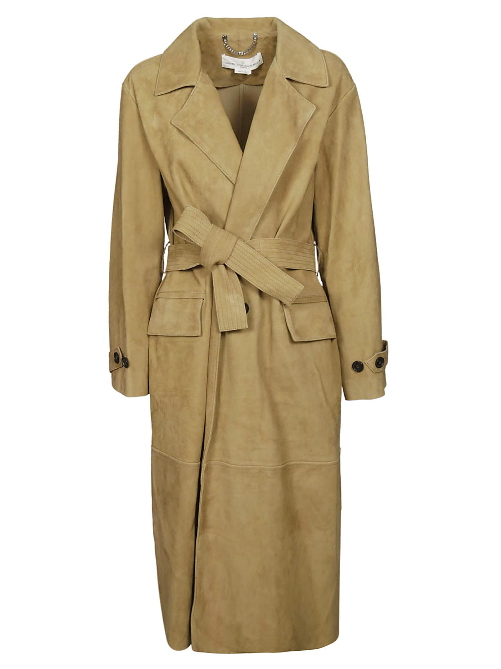 Photo of  Golden Goose Belted Trench- shop Golden Goose jackets online sales
