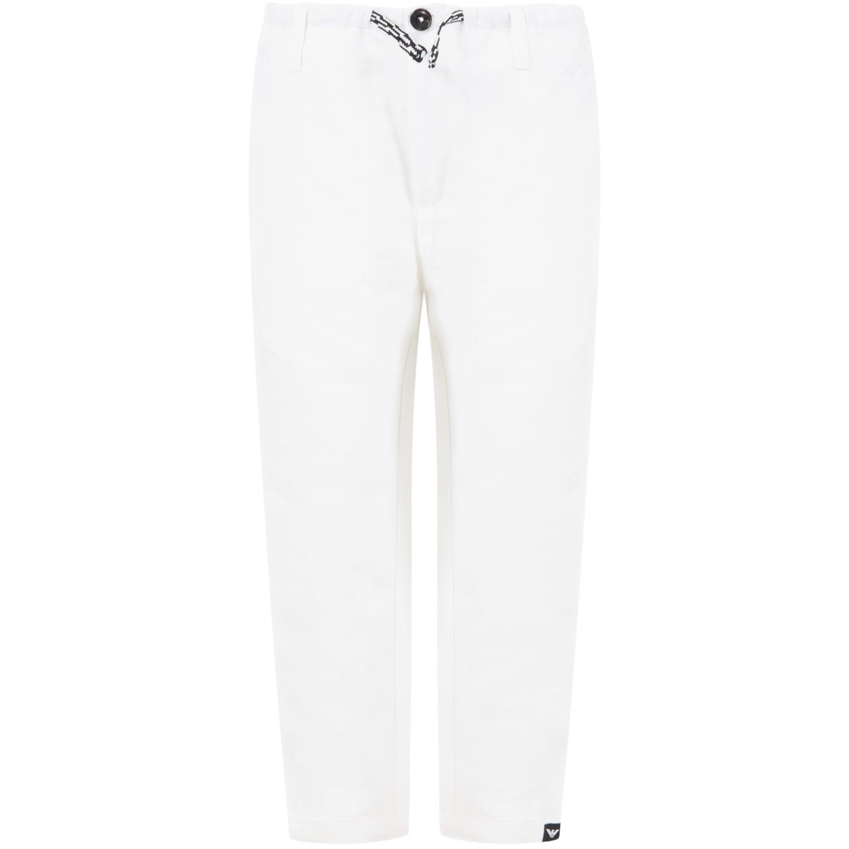 White Trouser For Boy