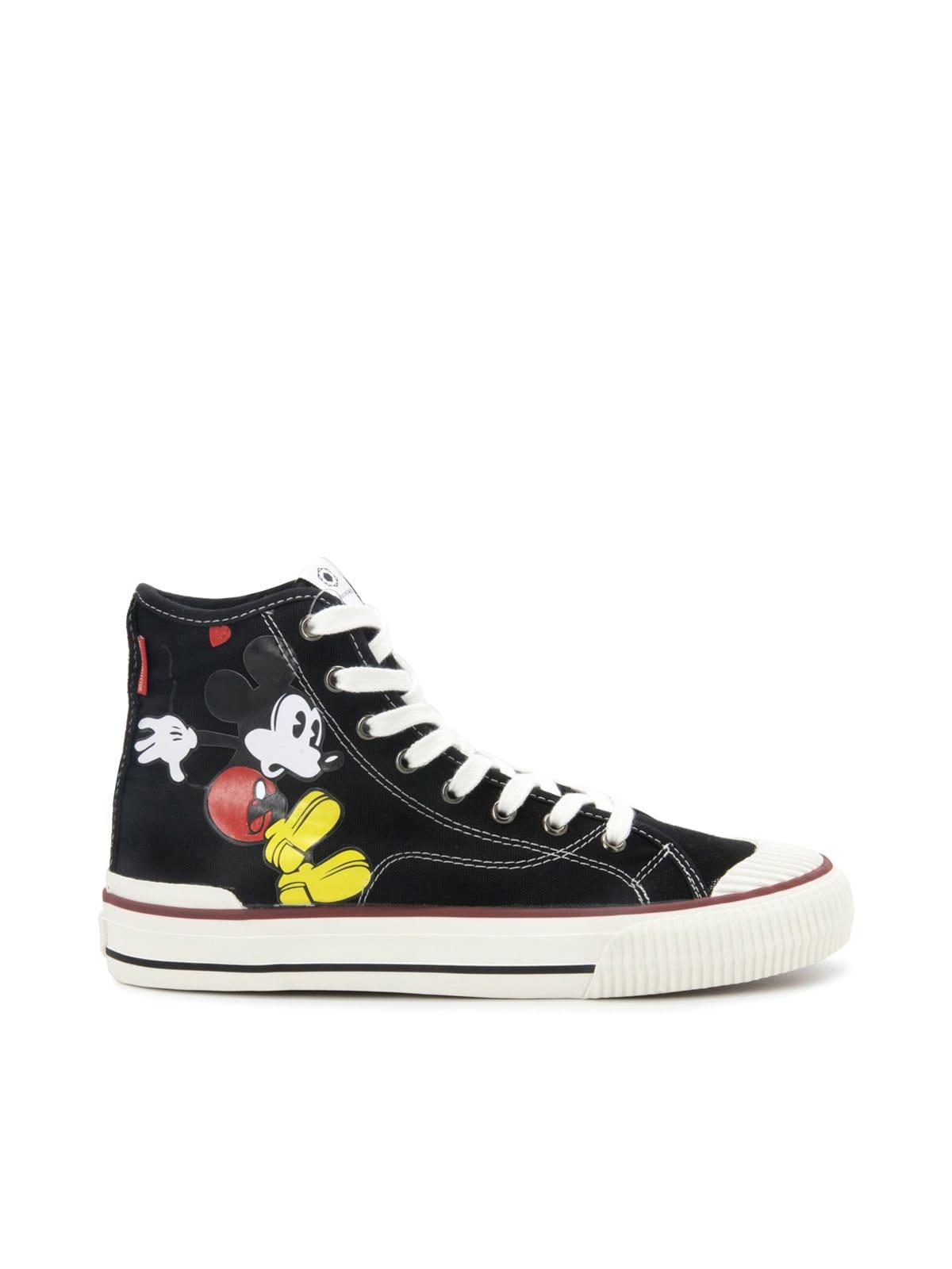 M.o.a. Master Of Arts Shoes KIT HI MICHEY MOUSE PRINTED