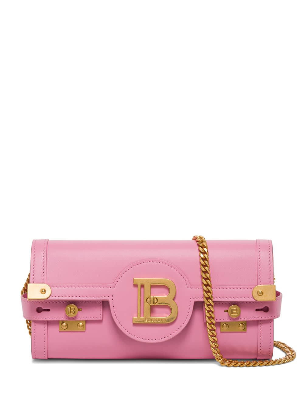 Balmain LEATHER CROSSBODY BAG B-BUZZ 23