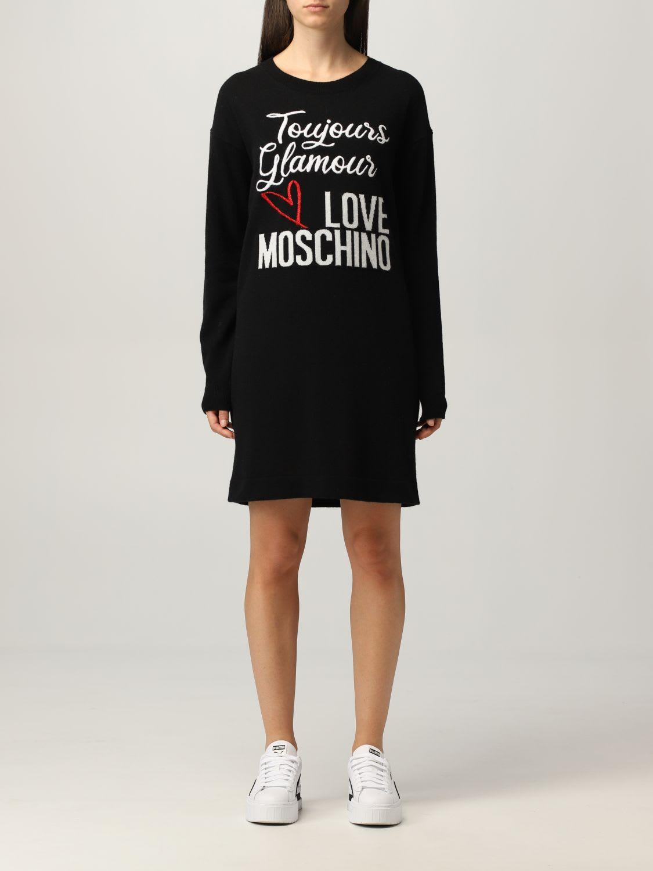 Love Moschino Dress Love Moschino Dress In Wool Blend