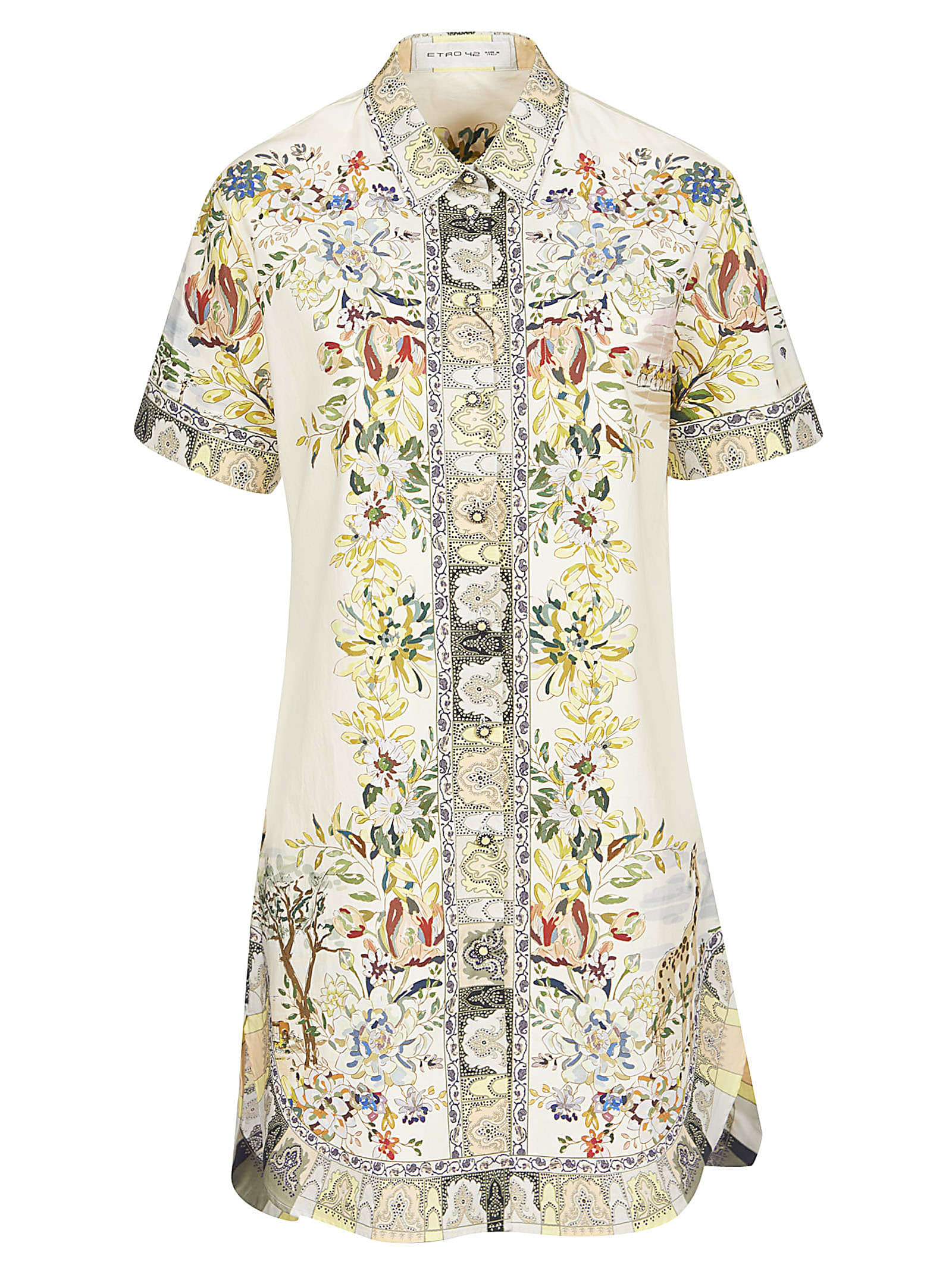 Buy Etro Desert Mirages Mid-length Dress online, shop Etro with free shipping