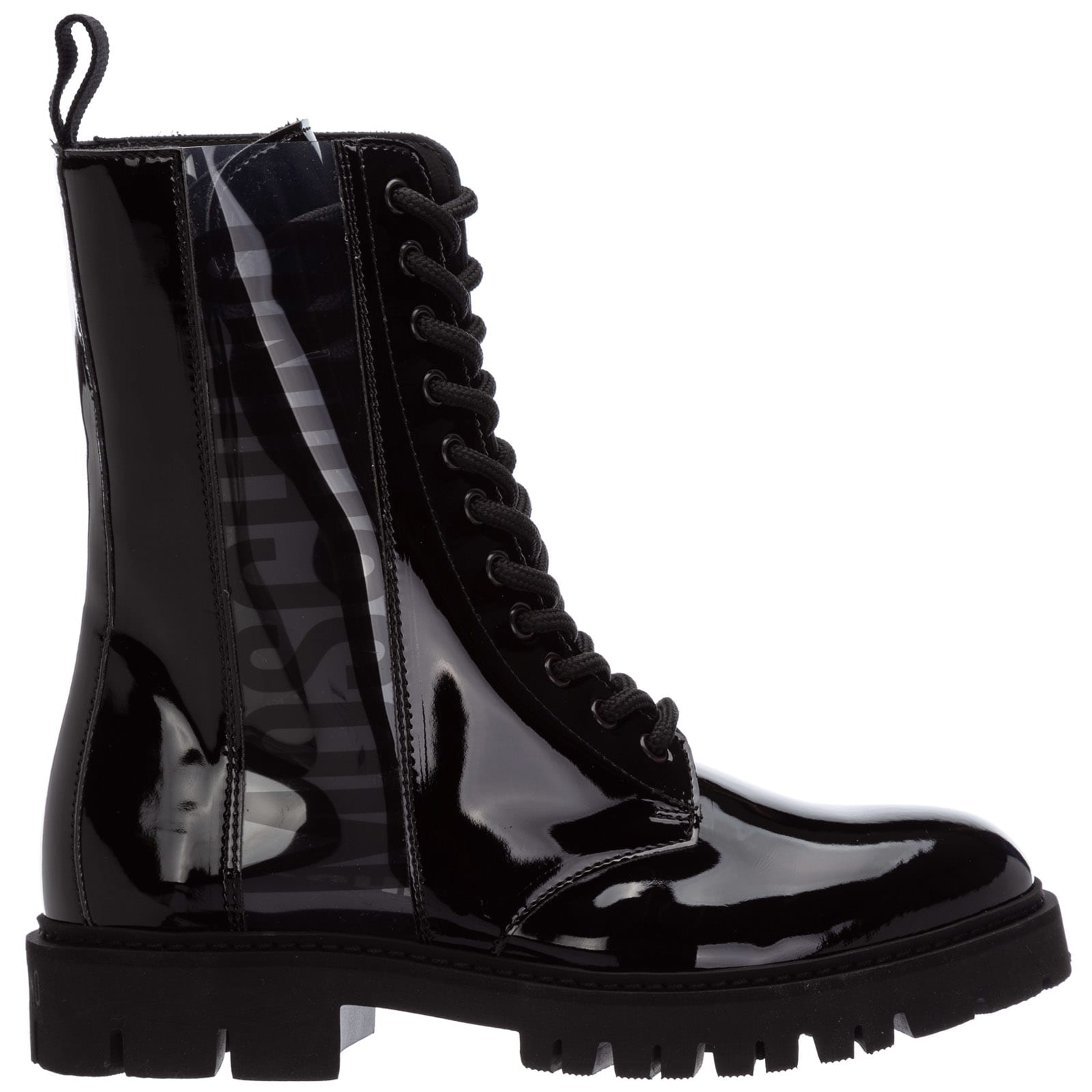 Moschino Boots BUBBLE TEDDY COMBAT BOOTS