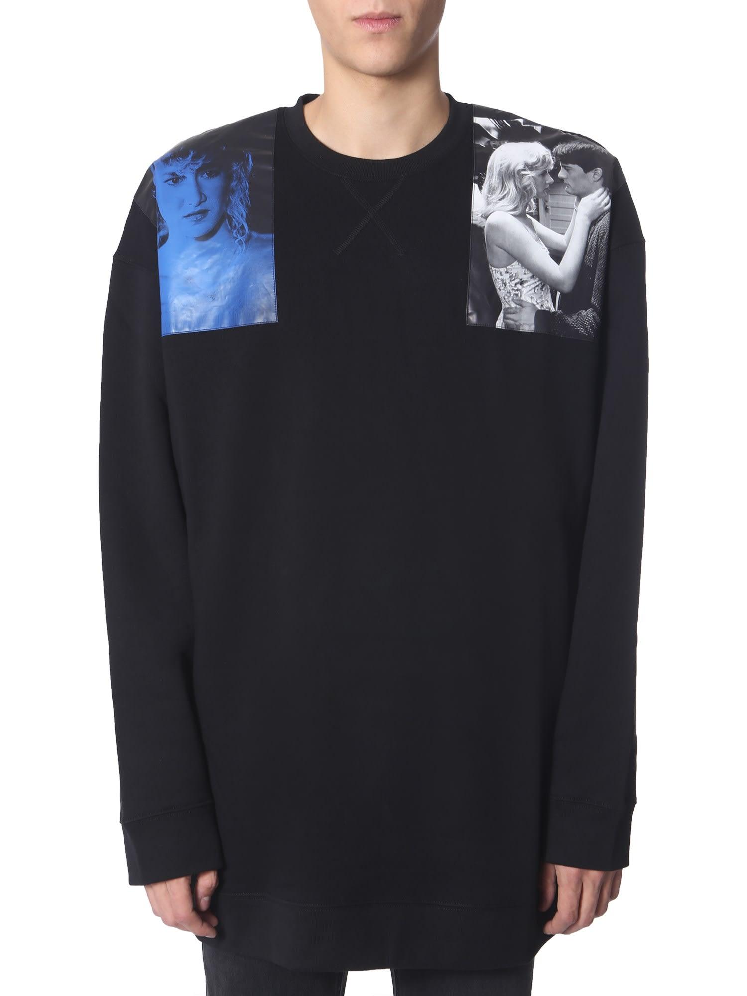 Raf Simons T-shirts OVERSIZE FIT SWEATSHIRT