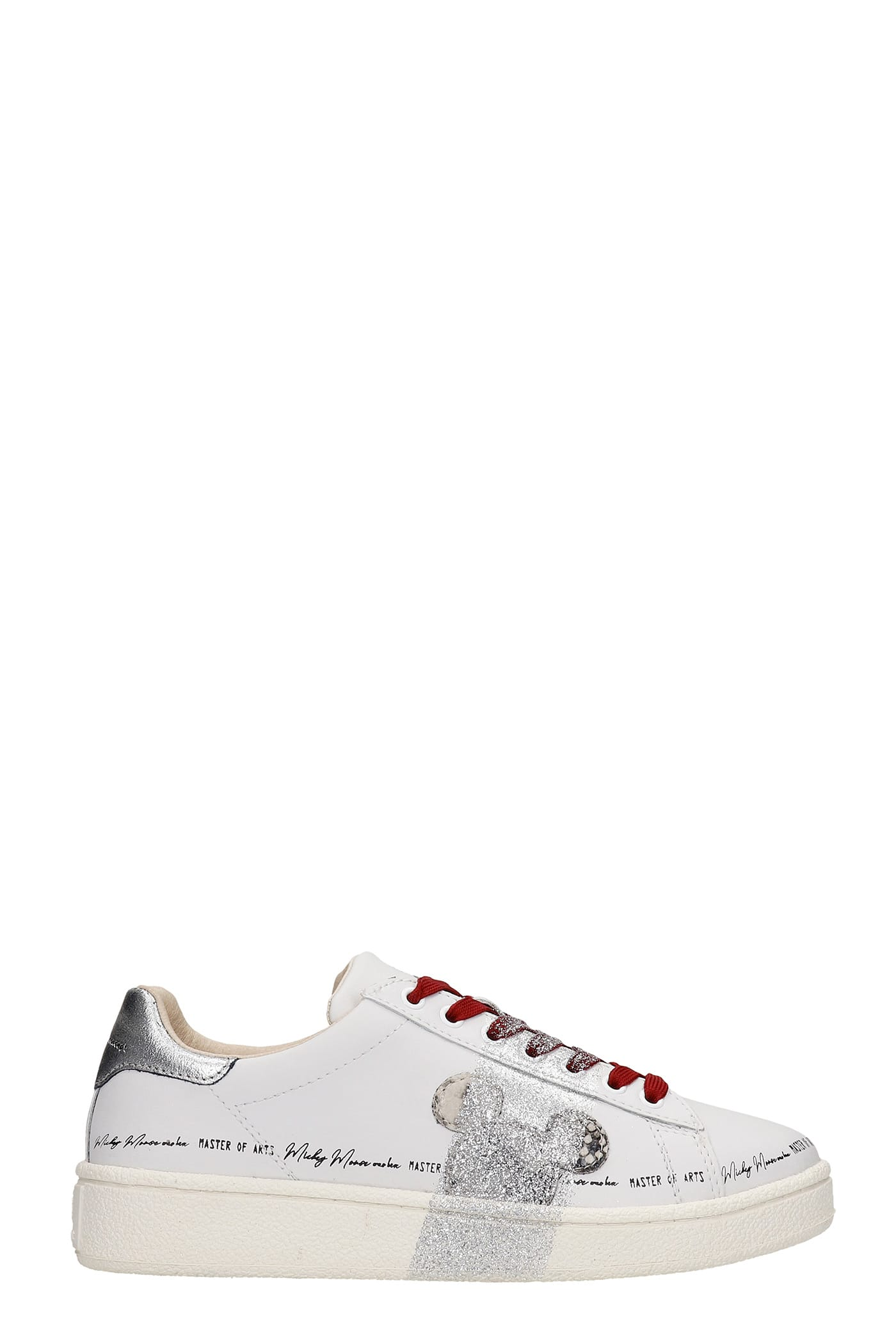 Moa Master Of Arts SNEAKERS IN WHITE LEATHER