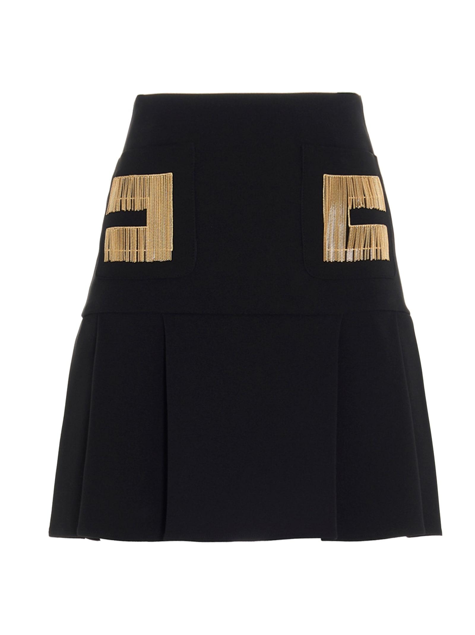 Elisabetta Franchi Celyn B. Pleated skirts SKIRT