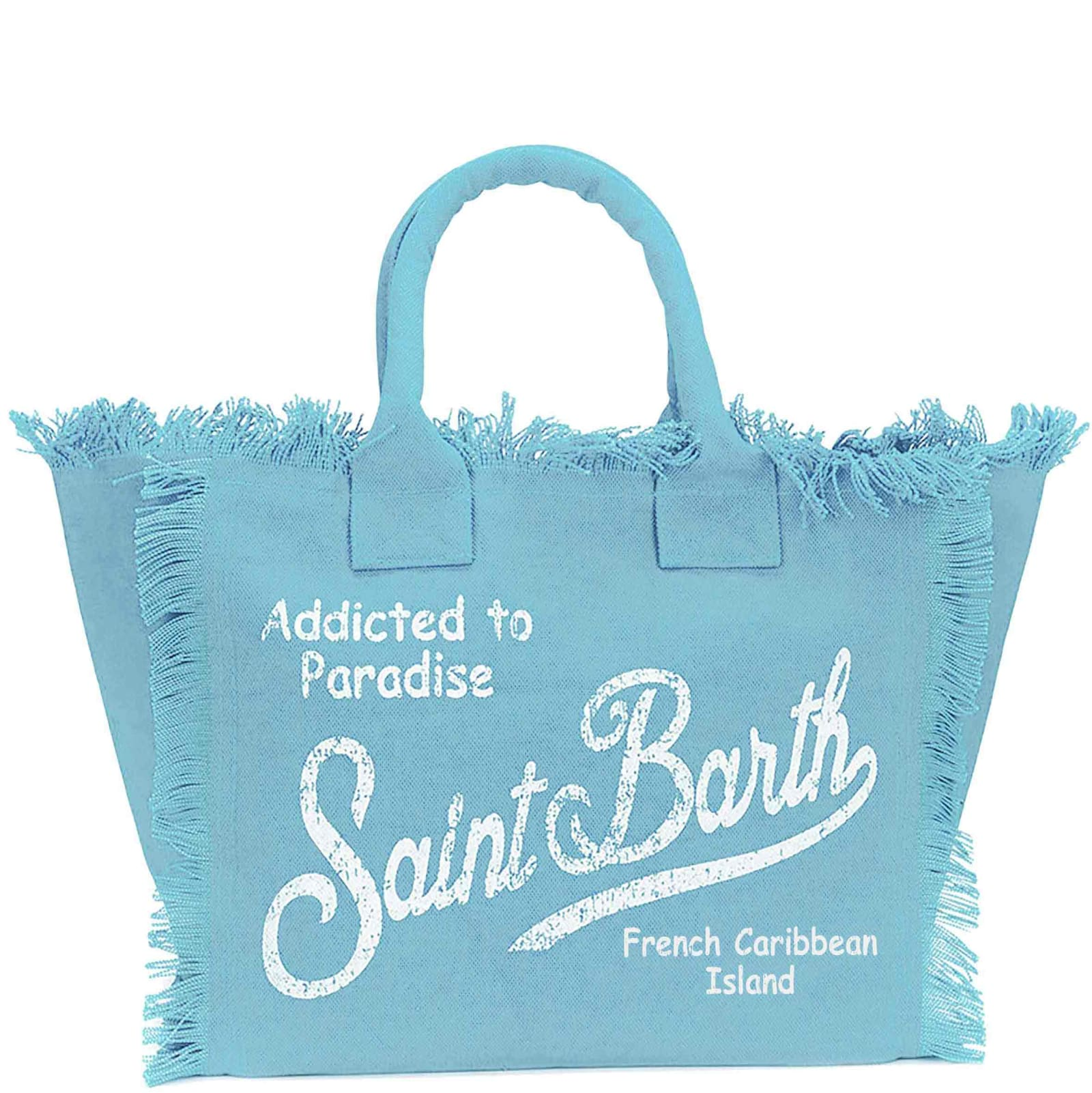 Light Blue Canvas Bag