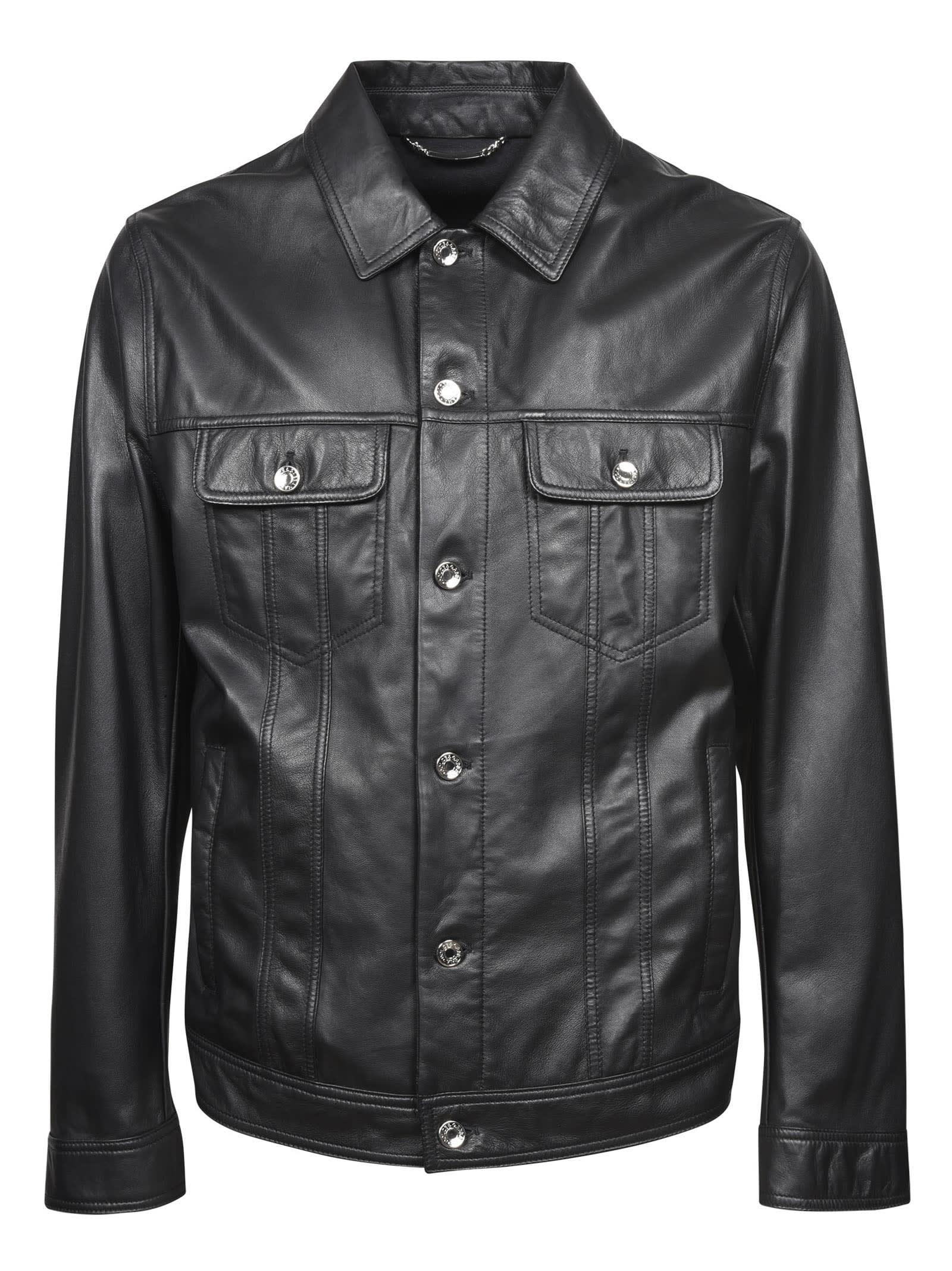 Dolce & Gabbana Leathers CLASSIC LEATHER JACKET