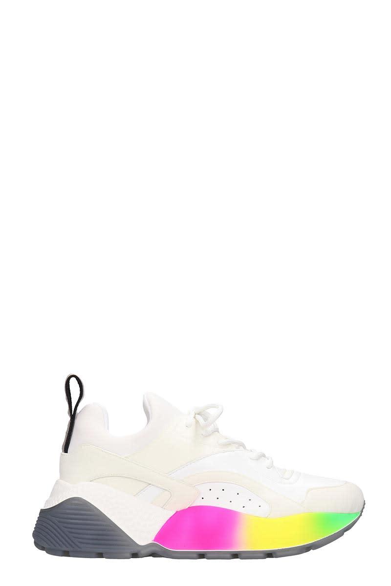 Stella McCartney Eclypse Sneakers In White Tech/synthetic