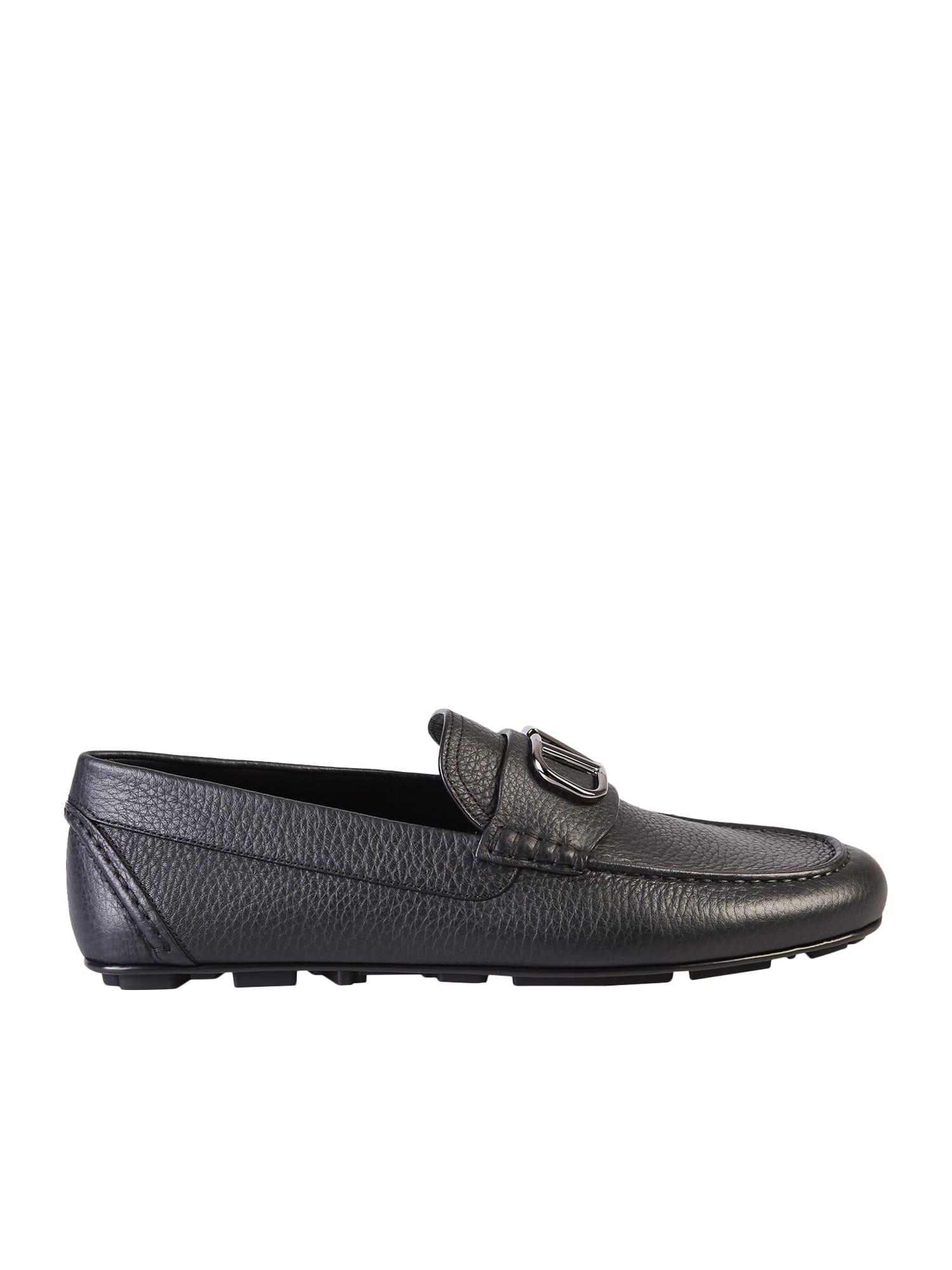 Valentino Garavani Branded Loafers