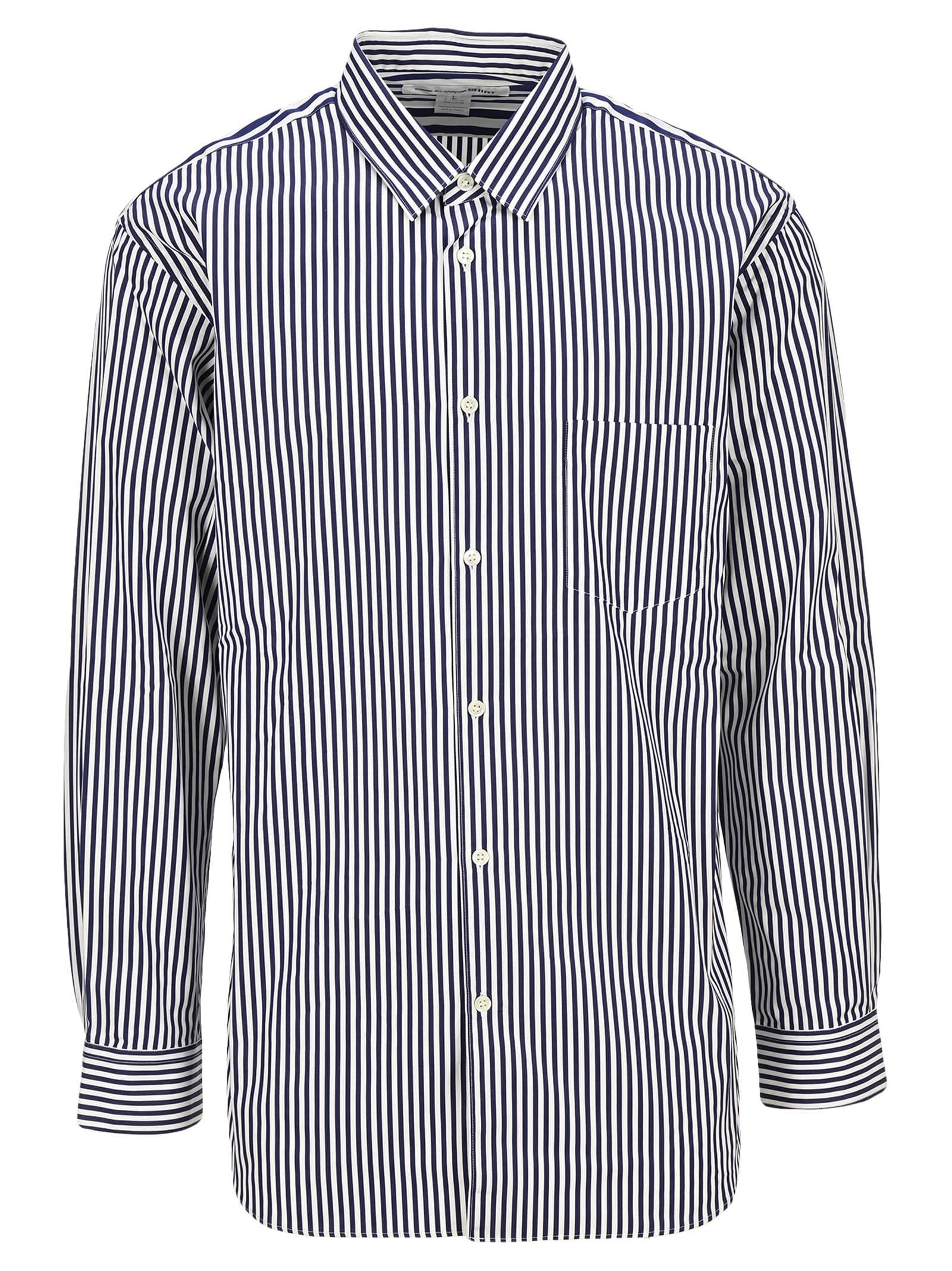 Comme Des Garçons Shirt Cottons STRIPED SHIRT