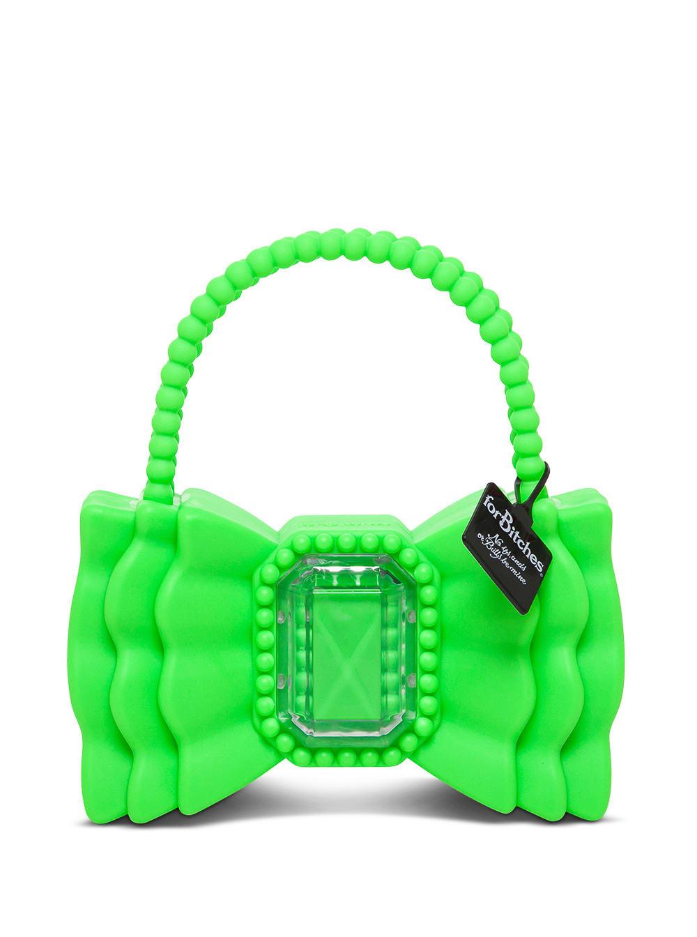 Peewee Bow Green Handbag