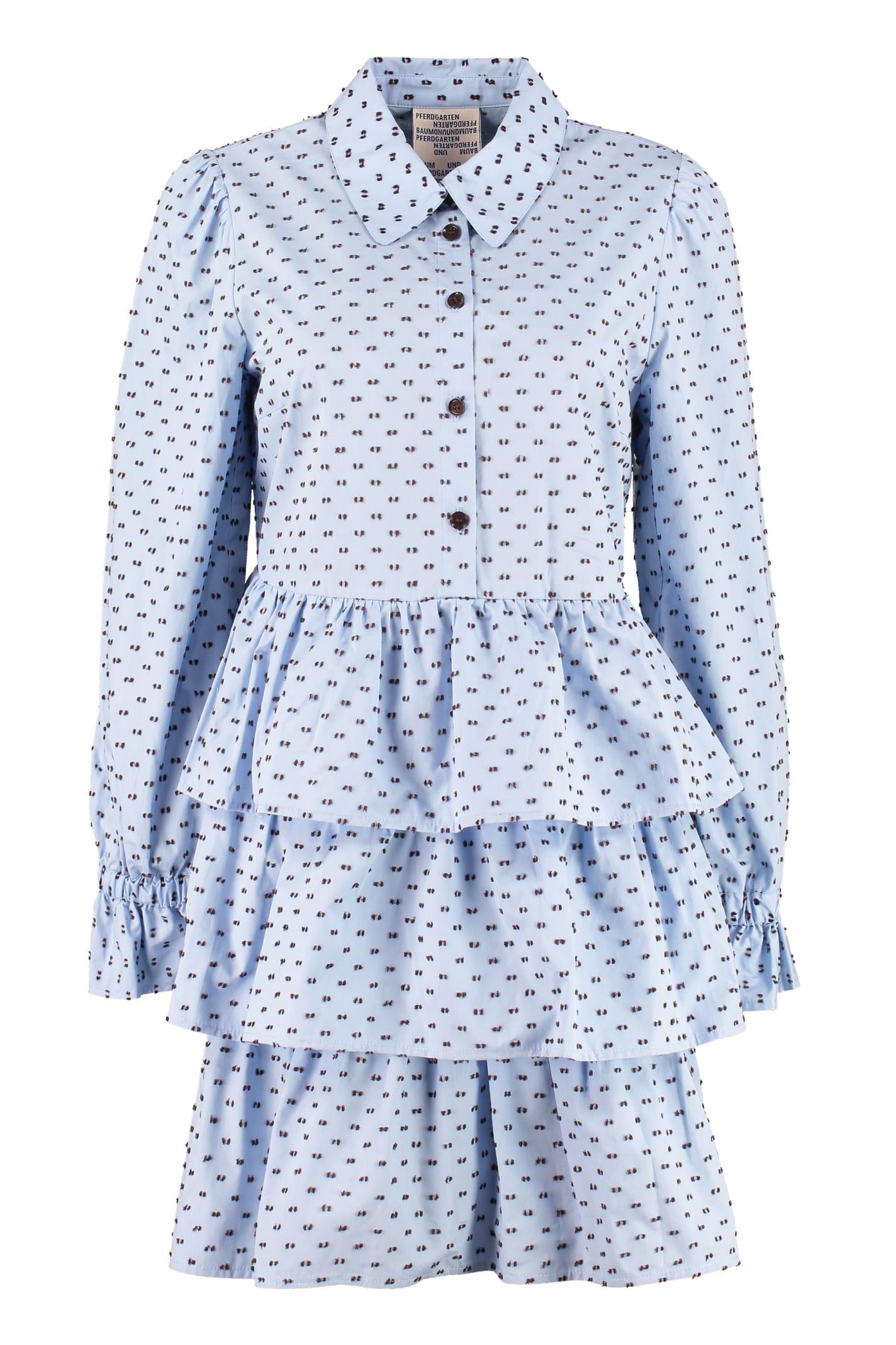 Buy Baum und Pferdgarten Anya Poplin Mini Dress online, shop Baum und Pferdgarten with free shipping