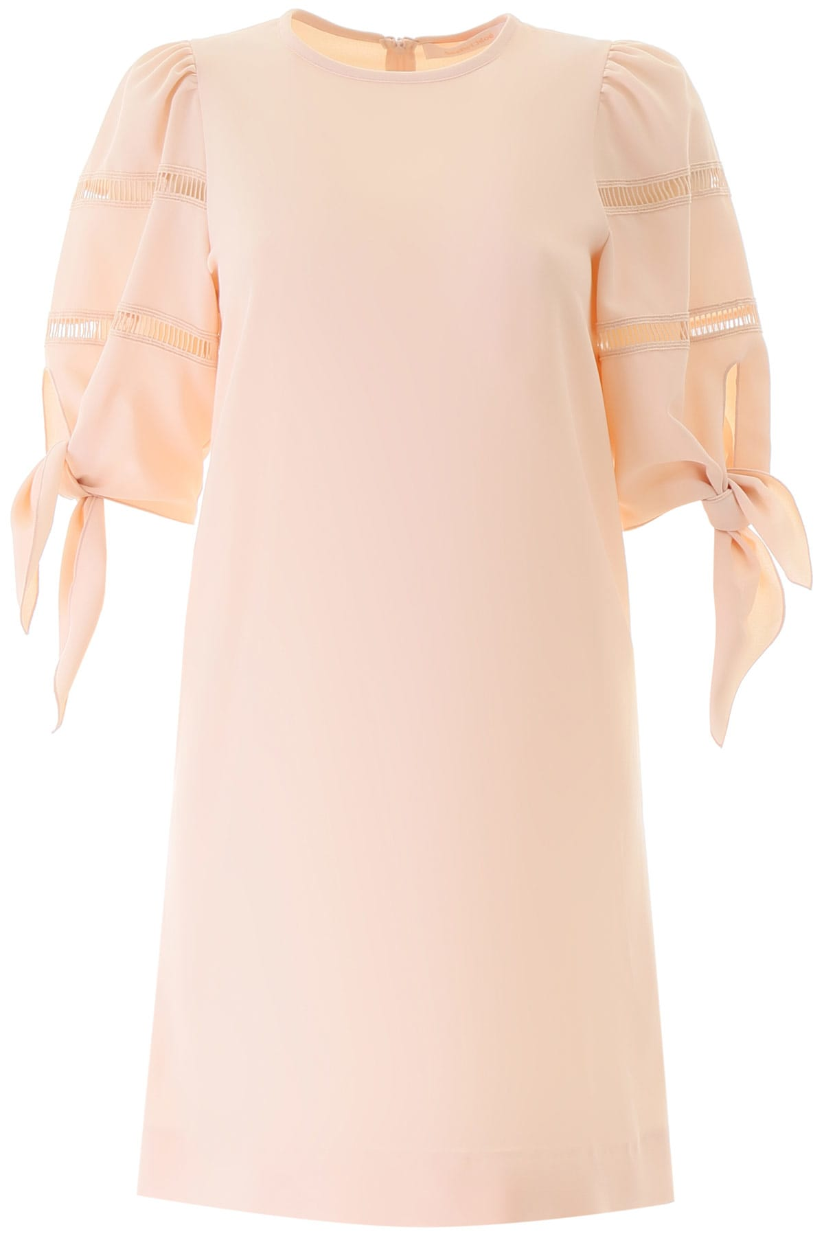 Buy See by Chloé Dress With Knots online, shop See by Chloé with free shipping