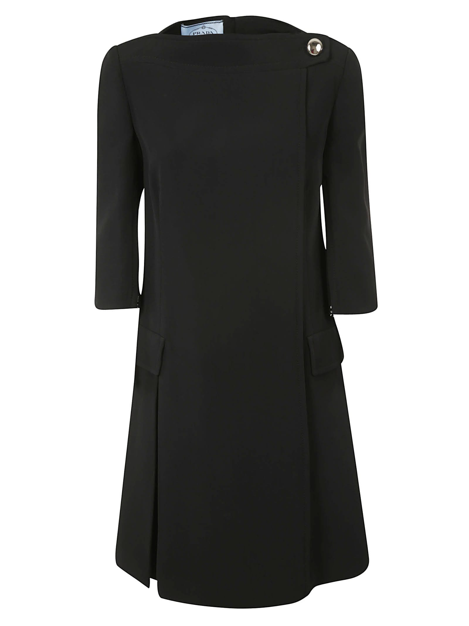 Prada Cady Crepe Dress