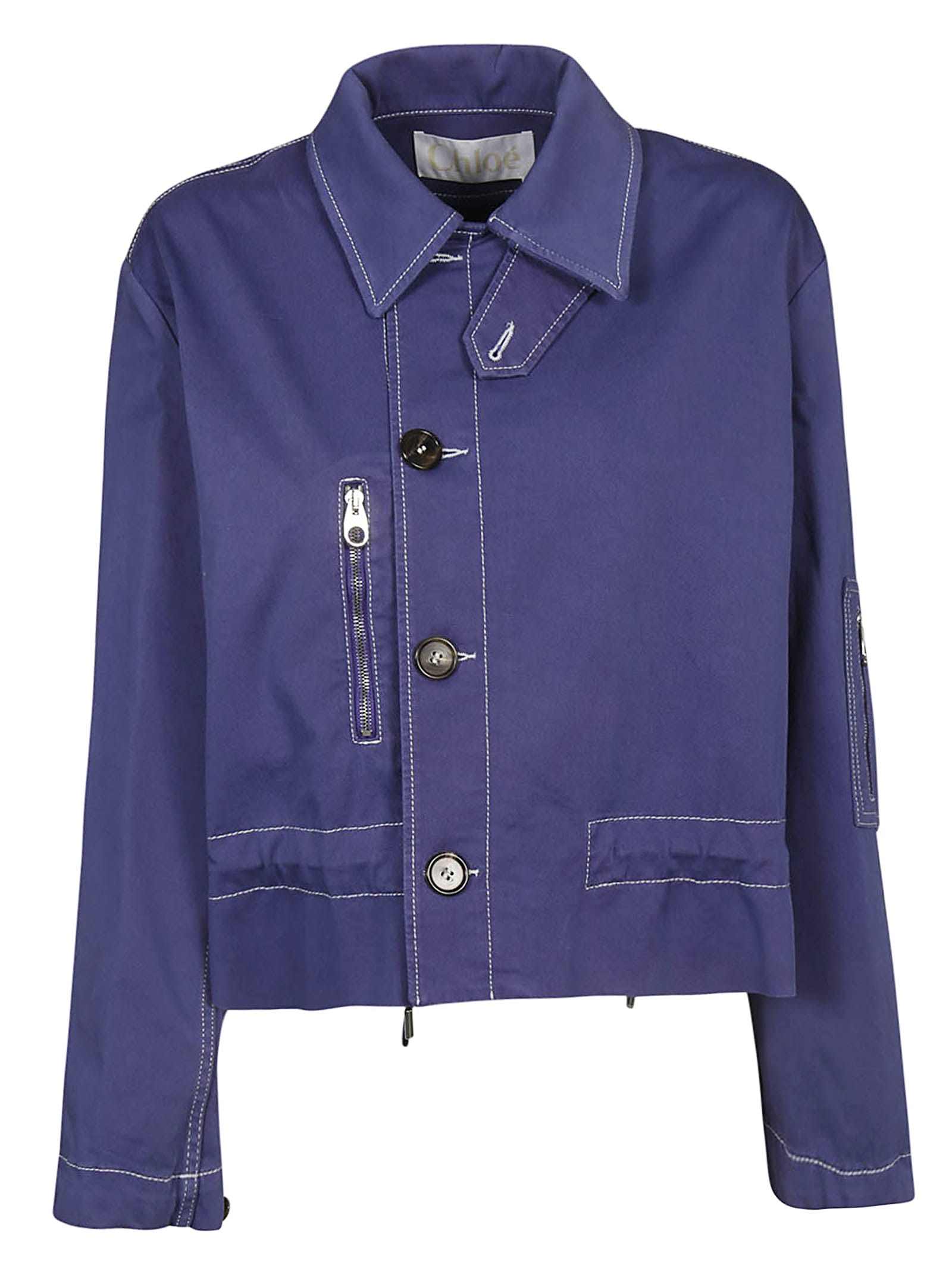 Chloé Buttoned Jacket