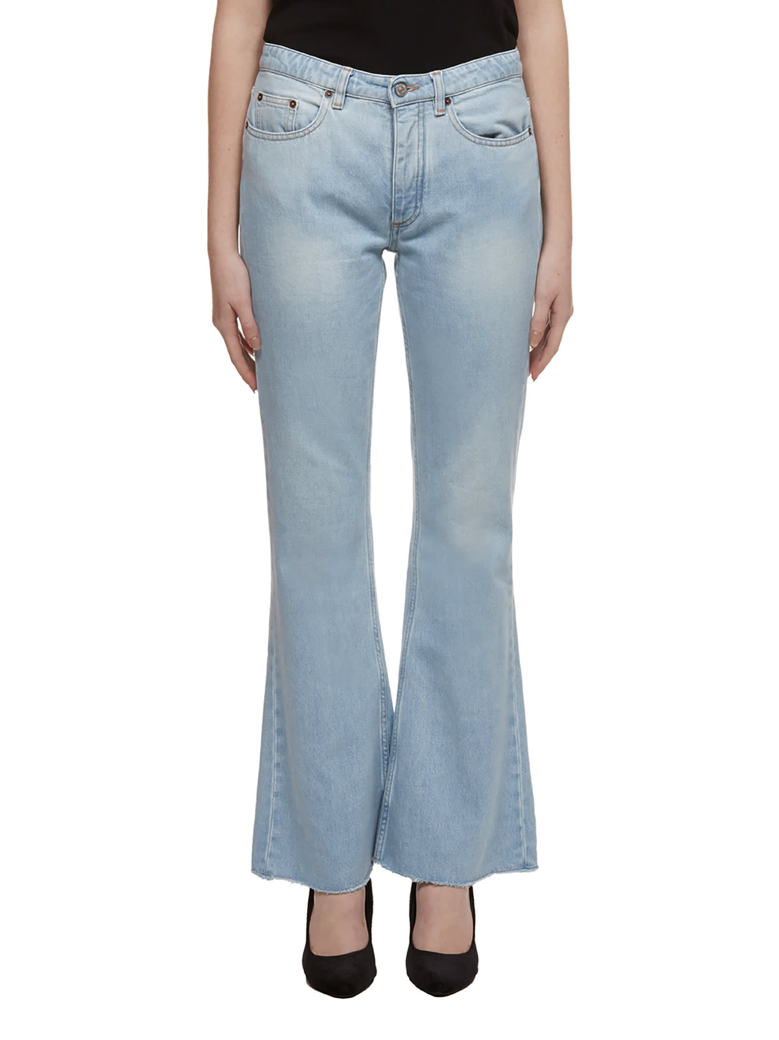 MM6 Maison Margiela Denim Bootcut Jeans