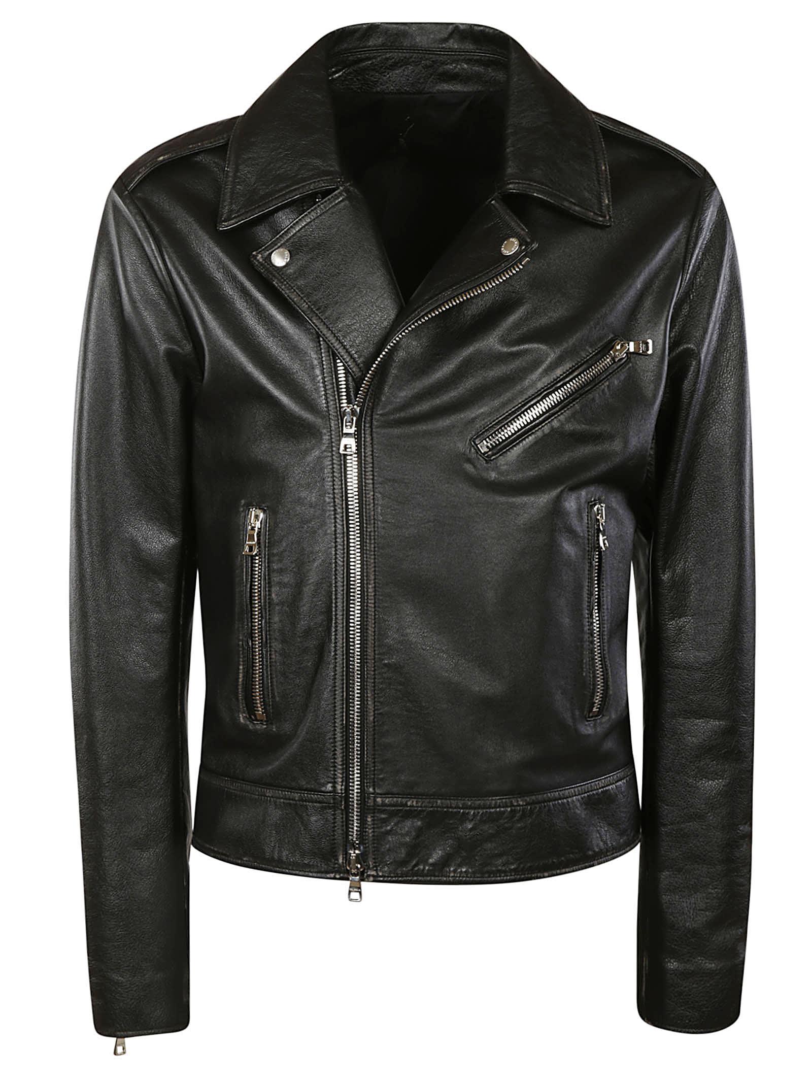 Balmain Classic Zip Biker Jacket