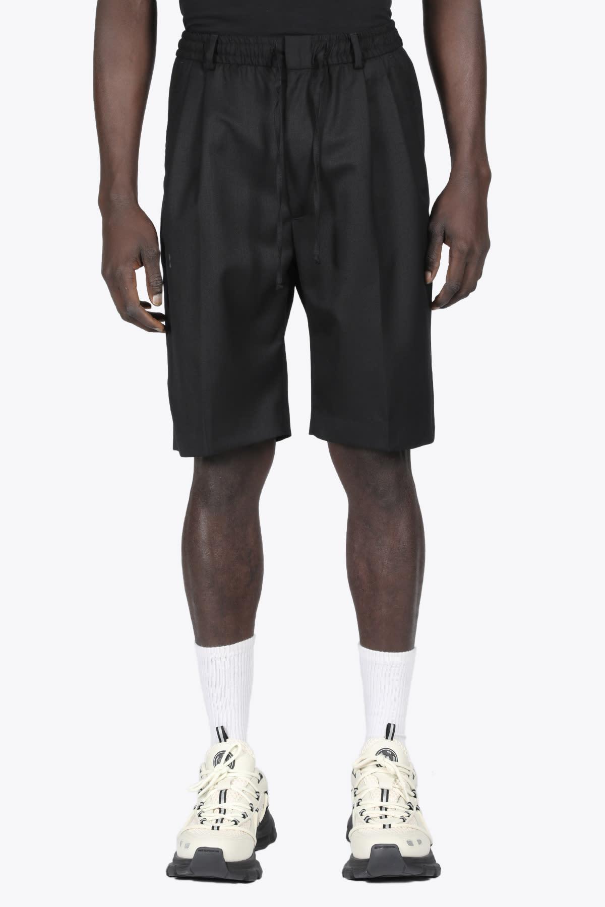 Double Pleat Shorts