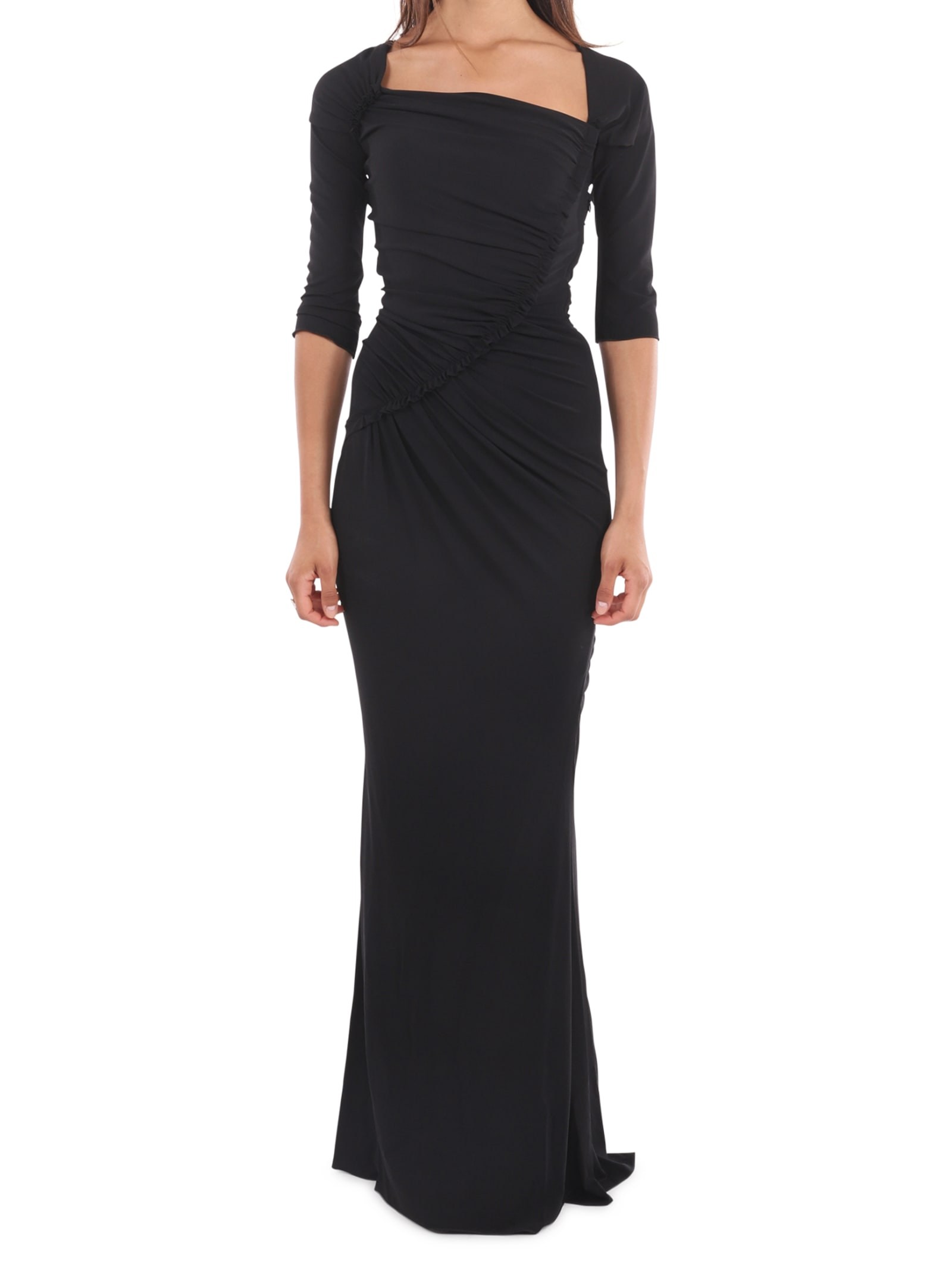 Dolce & Gabbana Long Black Dress